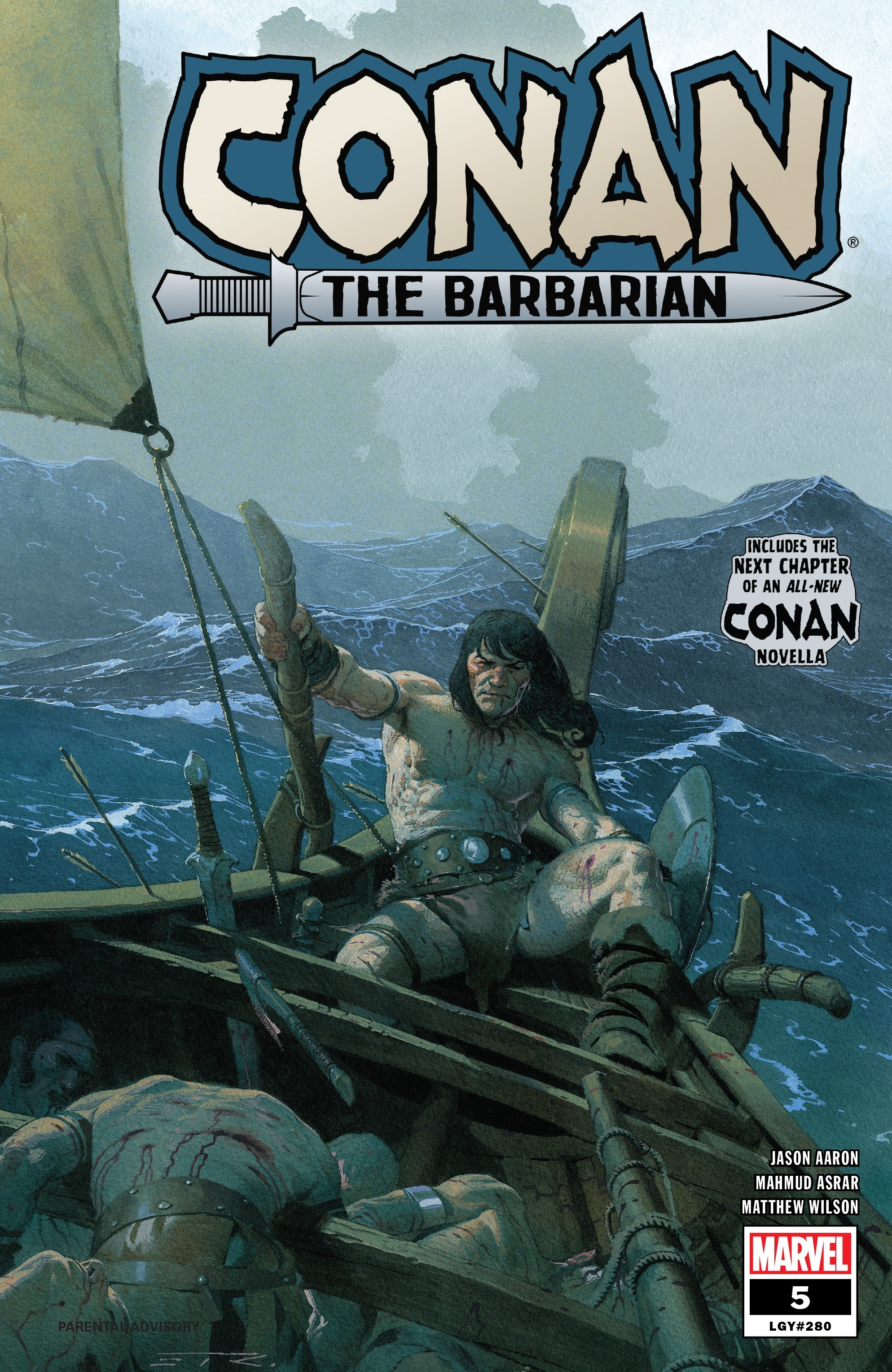 Conan the Barbarian (2019) 5 Page 1