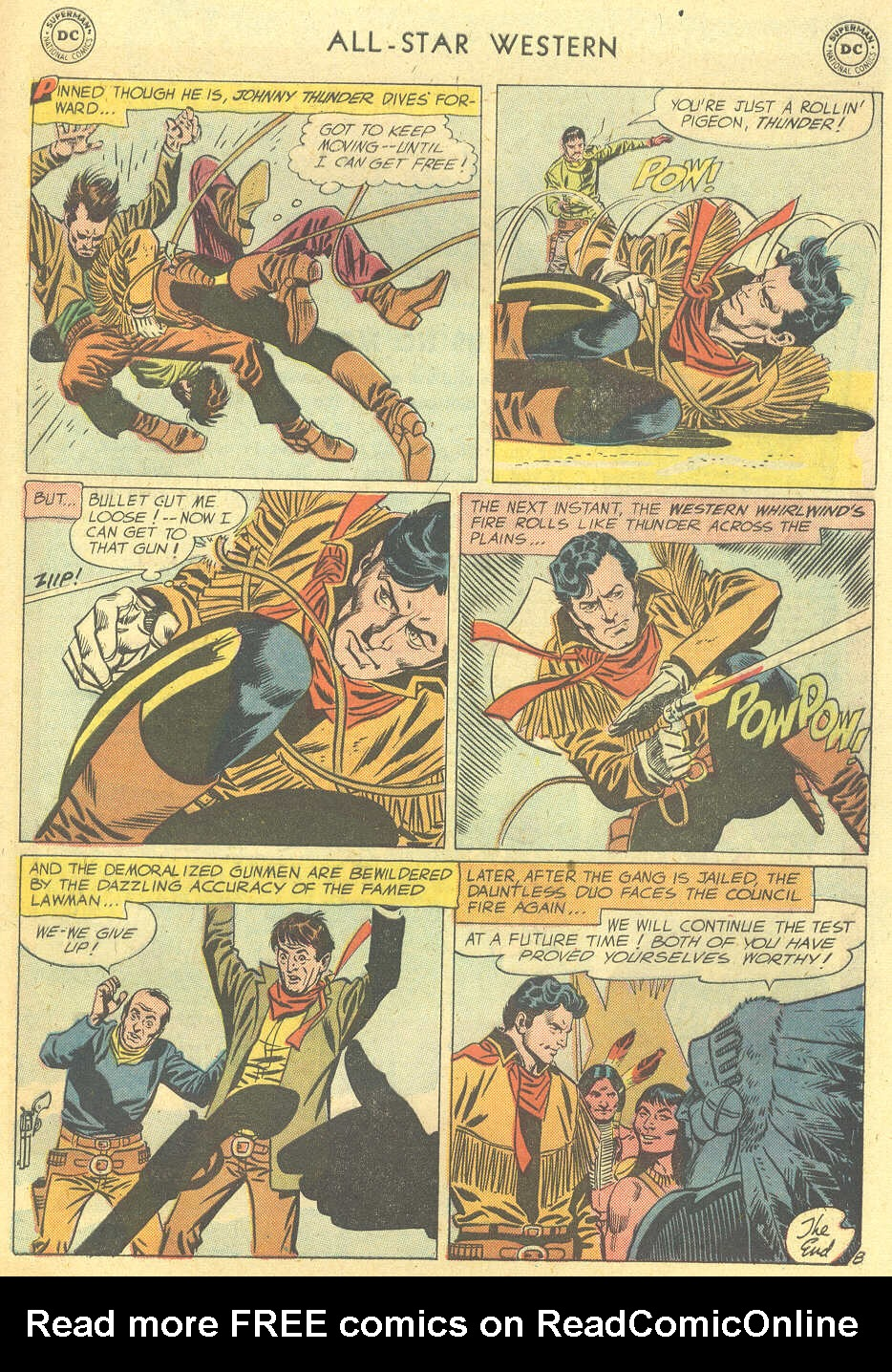 Read online All-Star Western (1951) comic -  Issue #101 - 33
