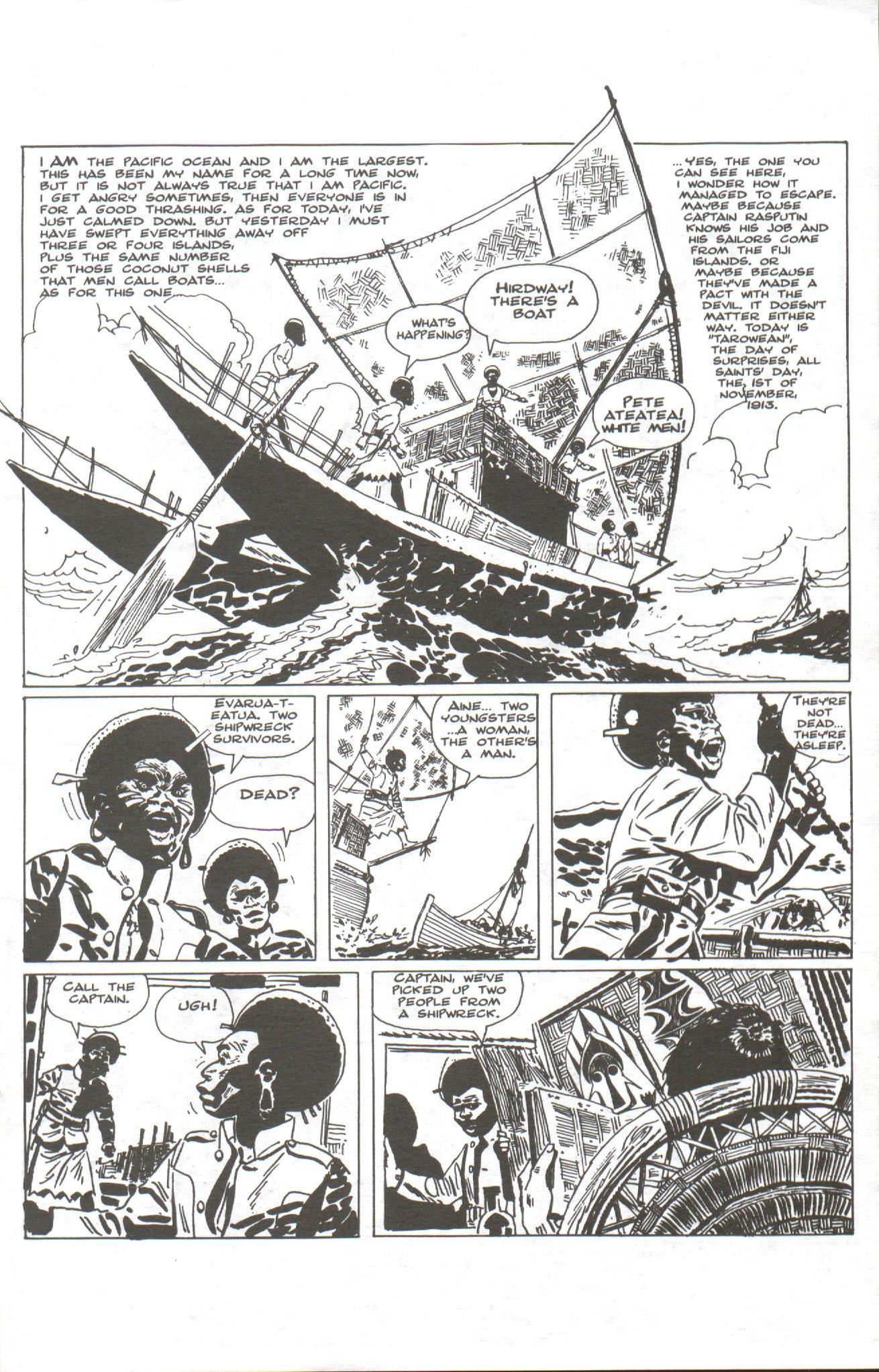 Read online Corto Maltese: Ballad of the Salt Sea comic -  Issue #1 - 3