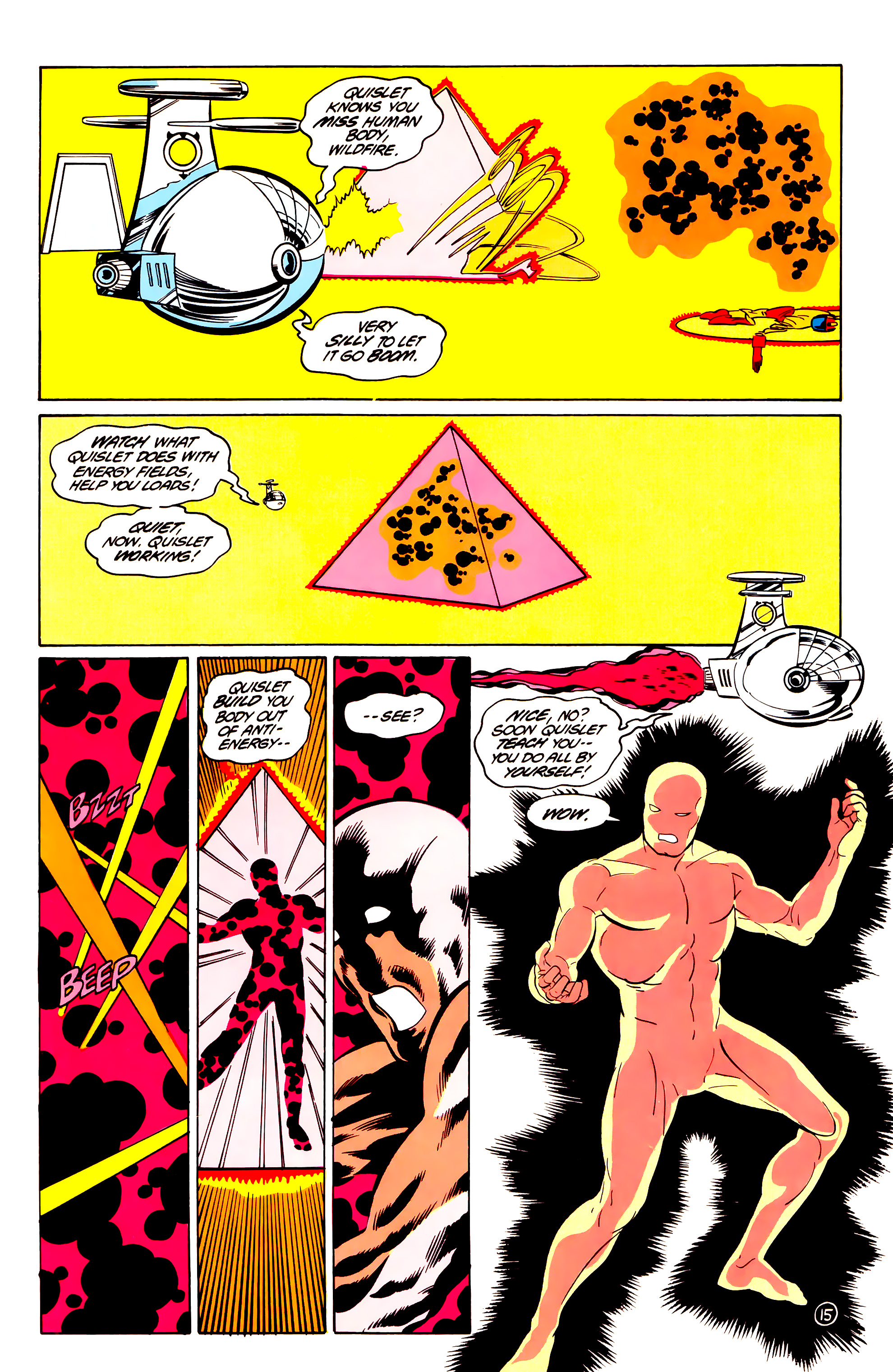 Legion of Super-Heroes (1984) 36 Page 15