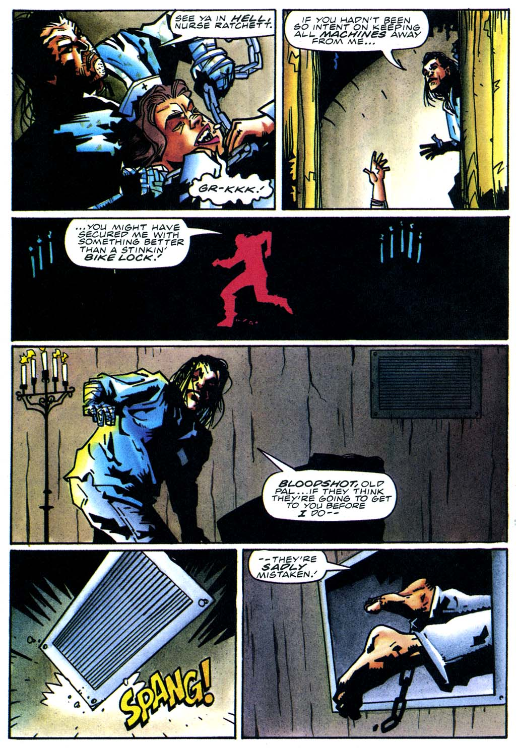 Read online Secret Weapons comic -  Issue #21 - 18