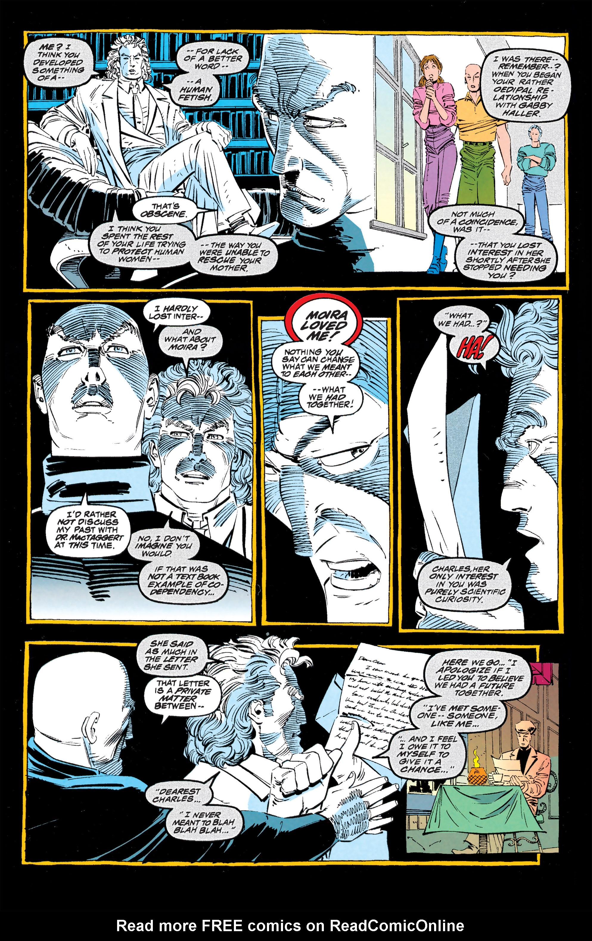 Read online Uncanny X-Men (1963) comic -  Issue #309 - 9