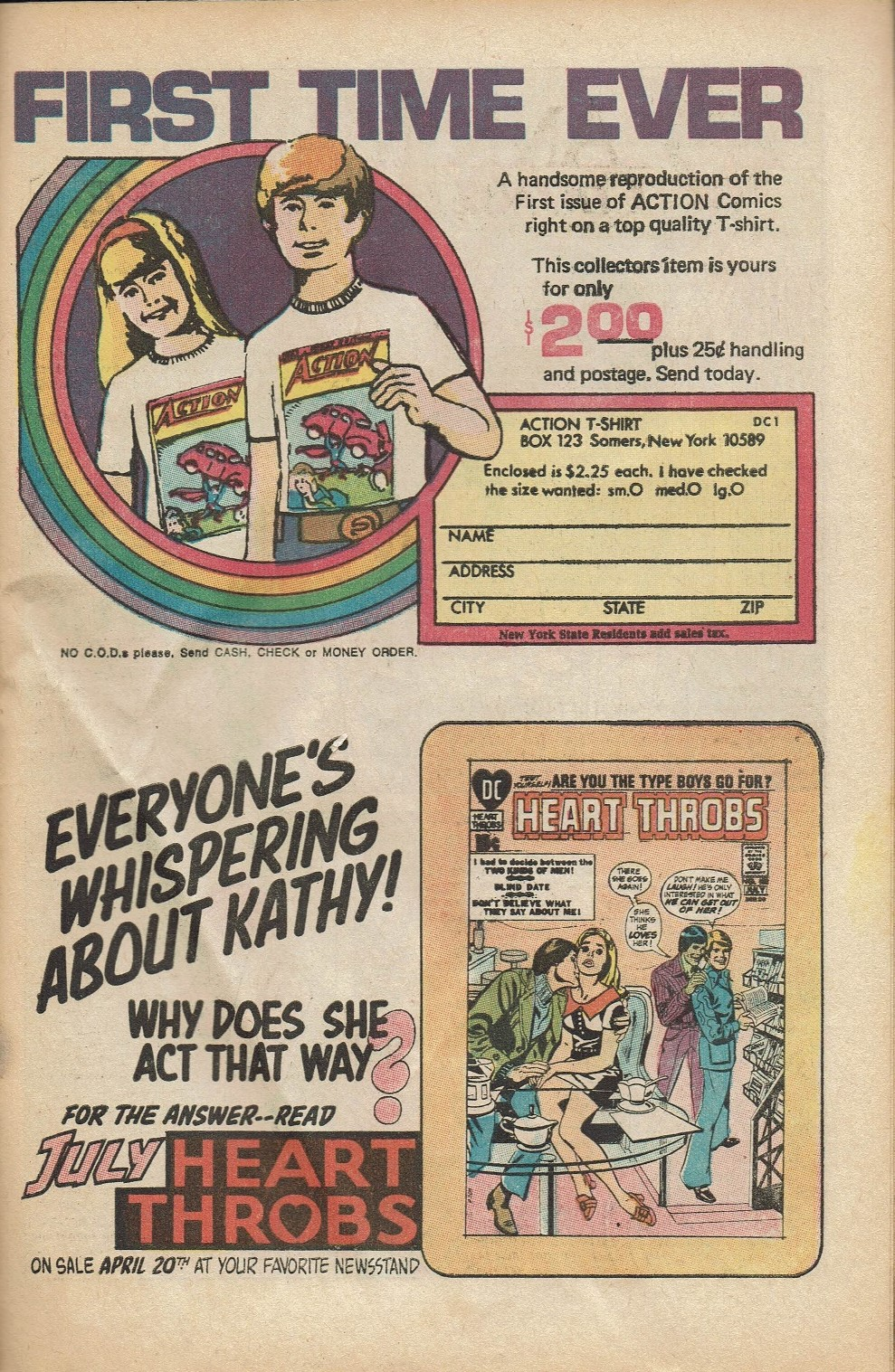 Read online Secret Hearts comic -  Issue #152 - 27