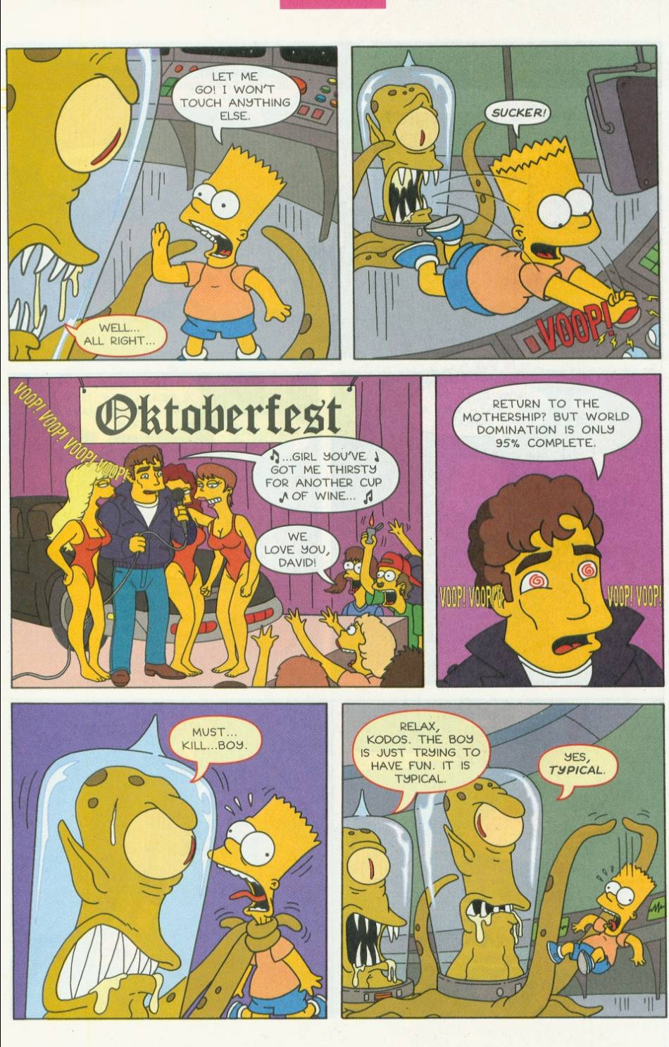 Read online Simpsons Comics Presents Bart Simpson comic -  Issue #1 - 27