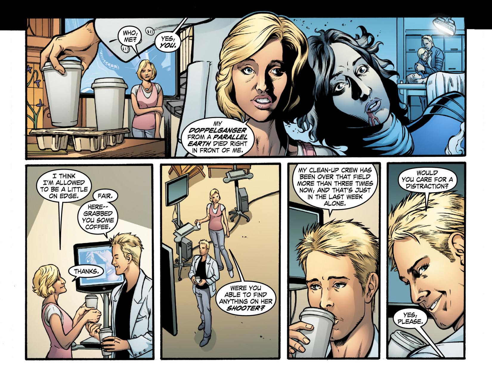 Read online Smallville: Season 11 comic -  Issue #16 - 3