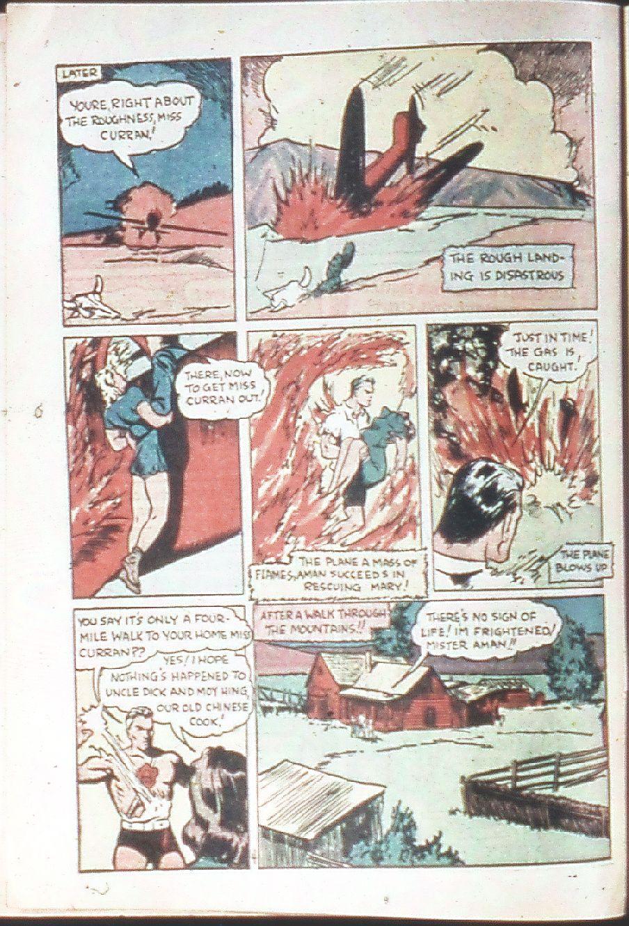 Read online Amazing Man Comics comic -  Issue #18 - 6