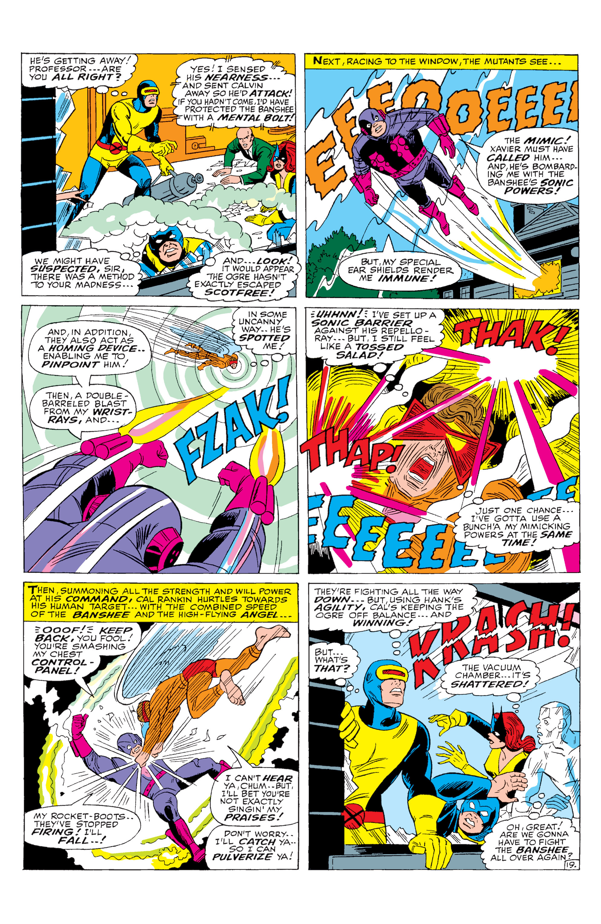 Read online Uncanny X-Men (1963) comic -  Issue #28 - 20