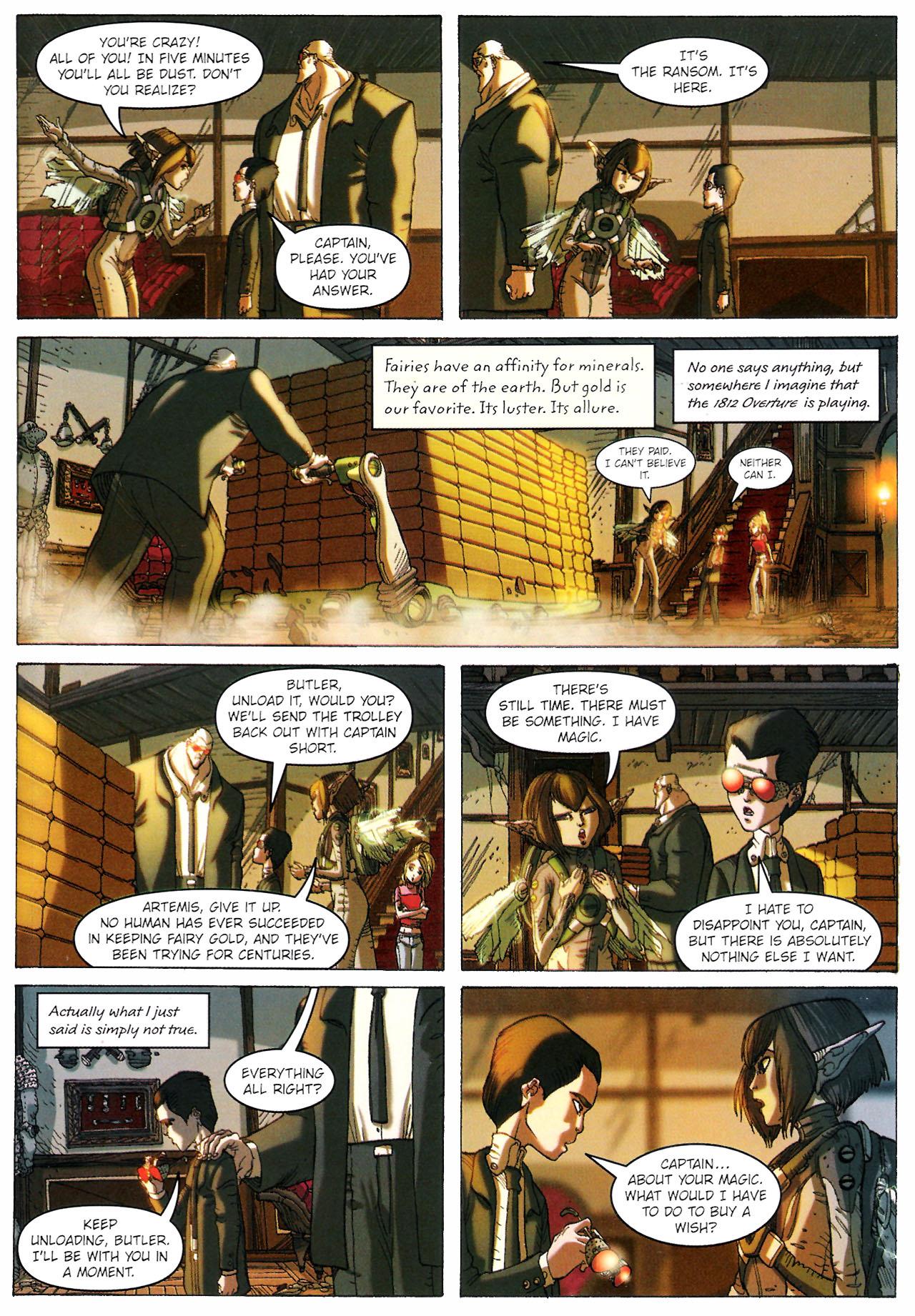 Read online Artemis Fowl: The Graphic Novel comic -  Issue #Artemis Fowl: The Graphic Novel Full - 104