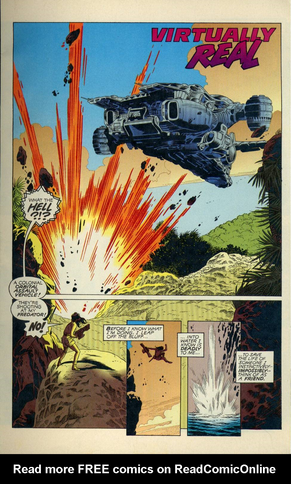 Read online Aliens/Predator: The Deadliest of the Species comic -  Issue #3 - 2