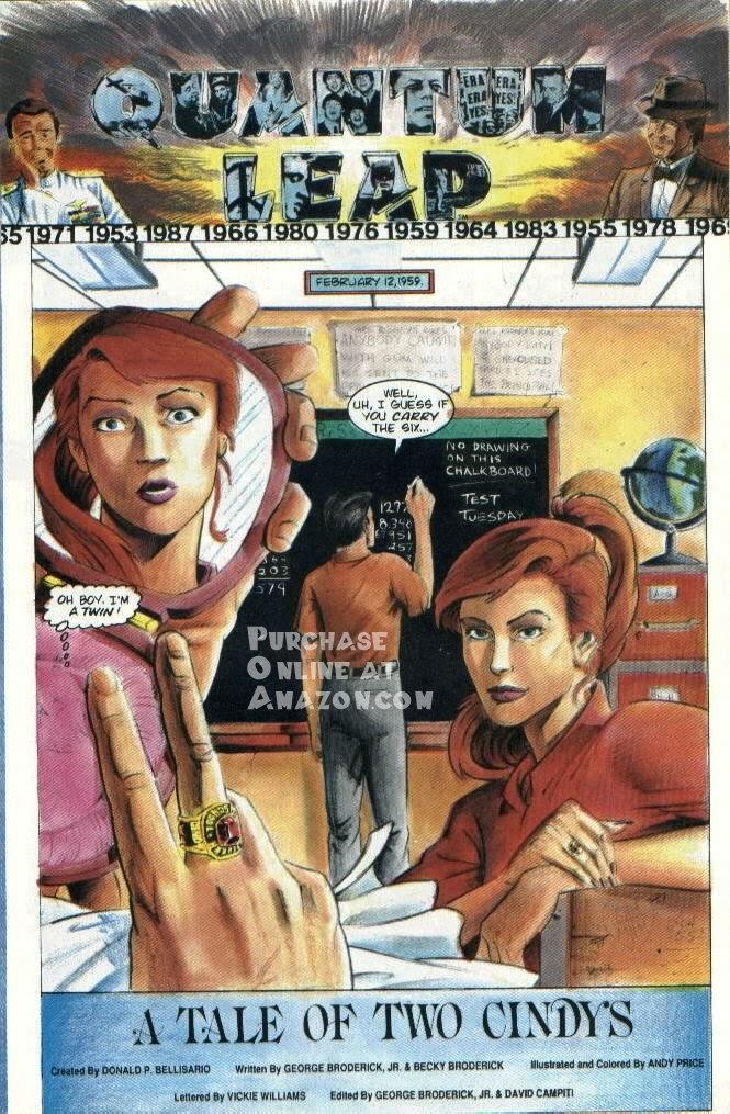 Read online Quantum Leap comic -  Issue #6 - 4