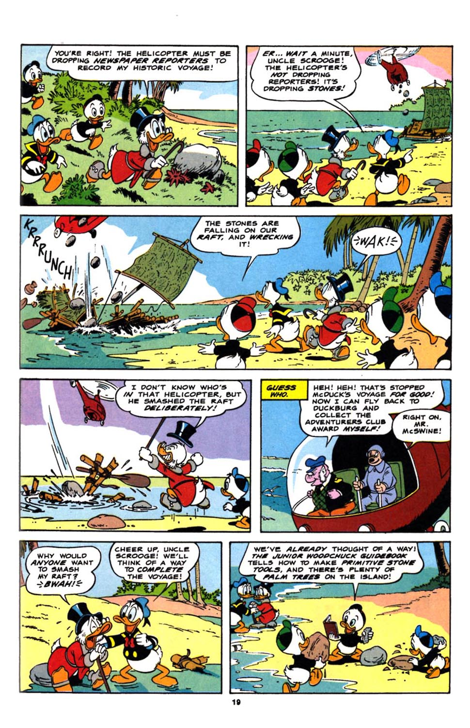 Read online Uncle Scrooge (1953) comic -  Issue #244 - 21