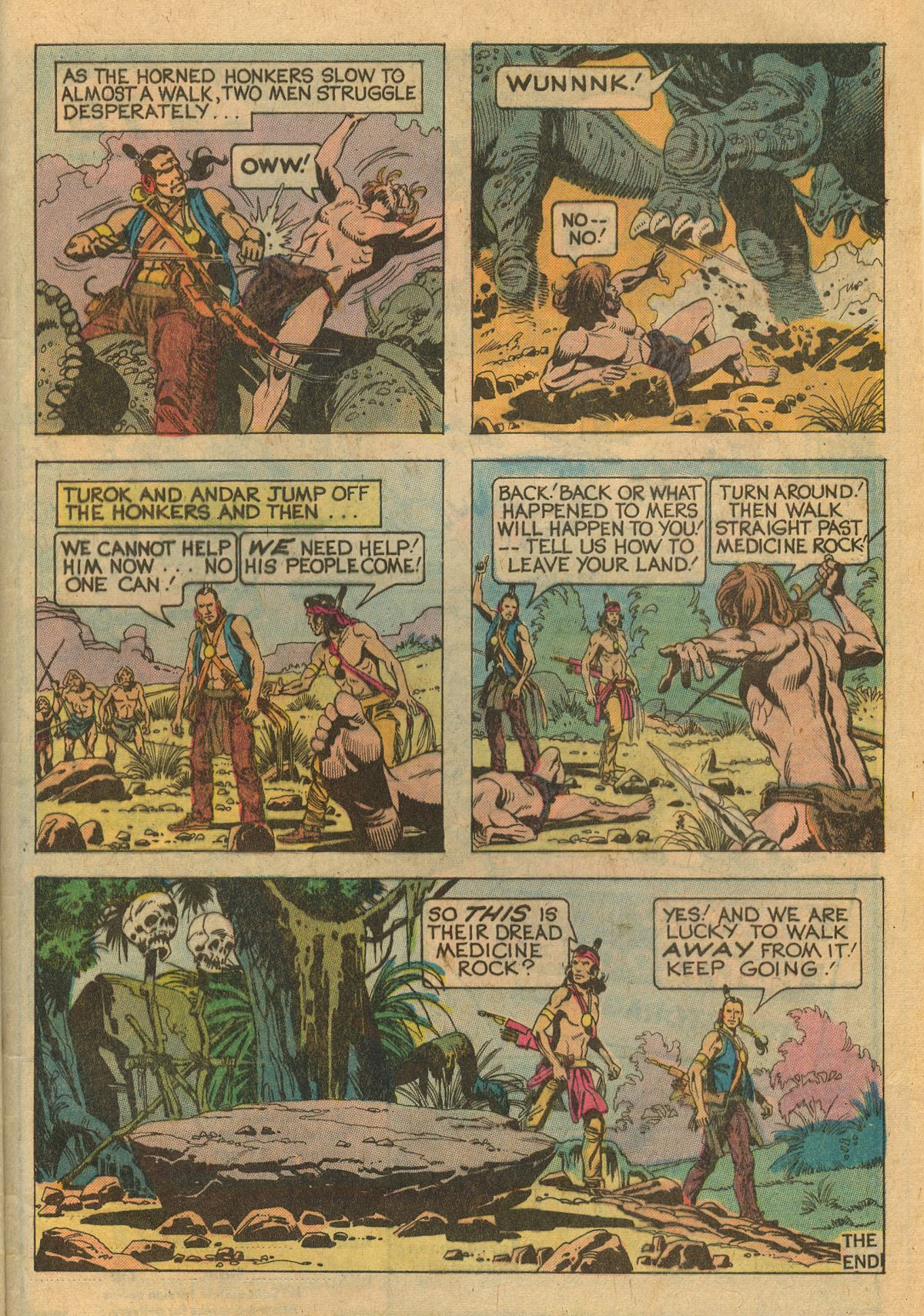 Read online Turok, Son of Stone comic -  Issue #111 - 33