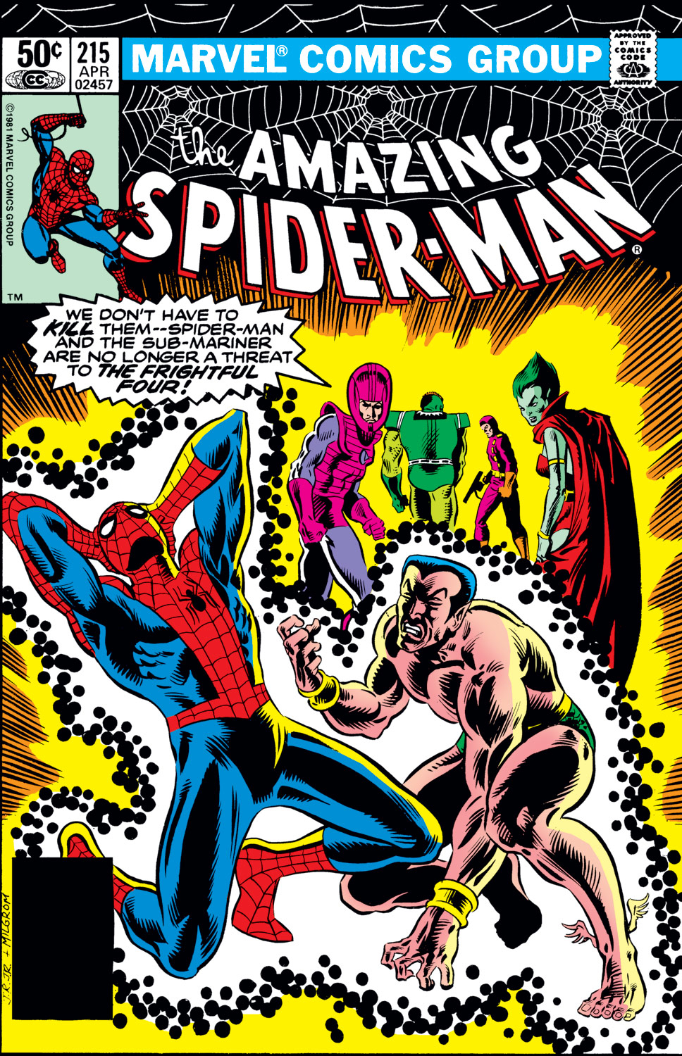 The Amazing Spider-Man (1963) 215 Page 1