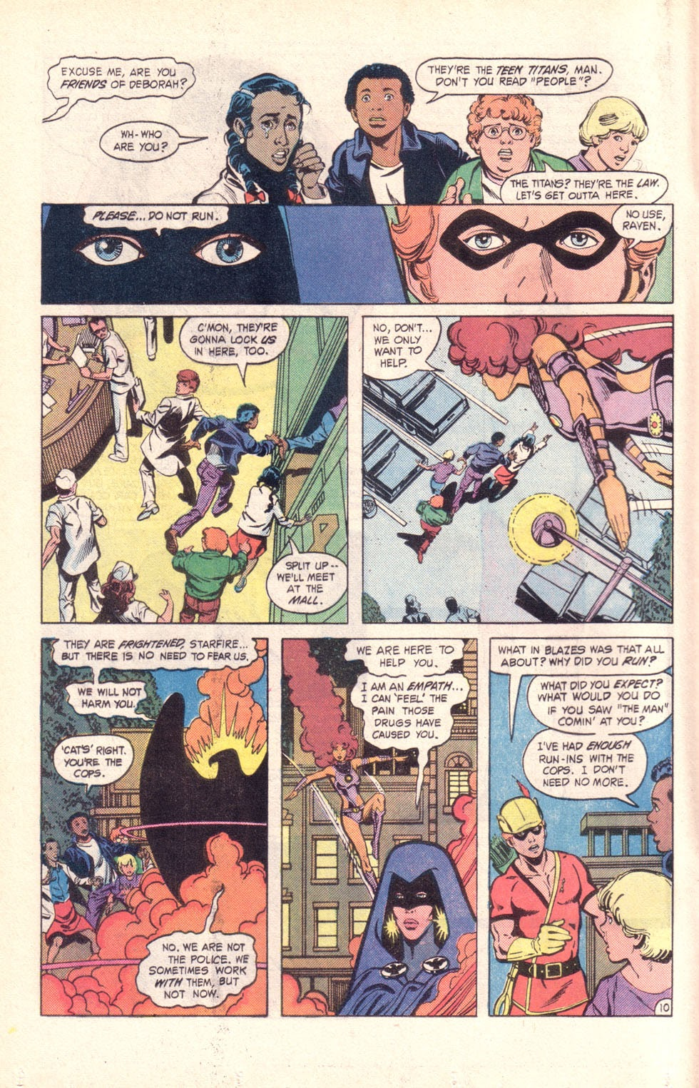 Read online The New Teen Titans (Drug Awareness Specials) comic -  Issue #2 - 12