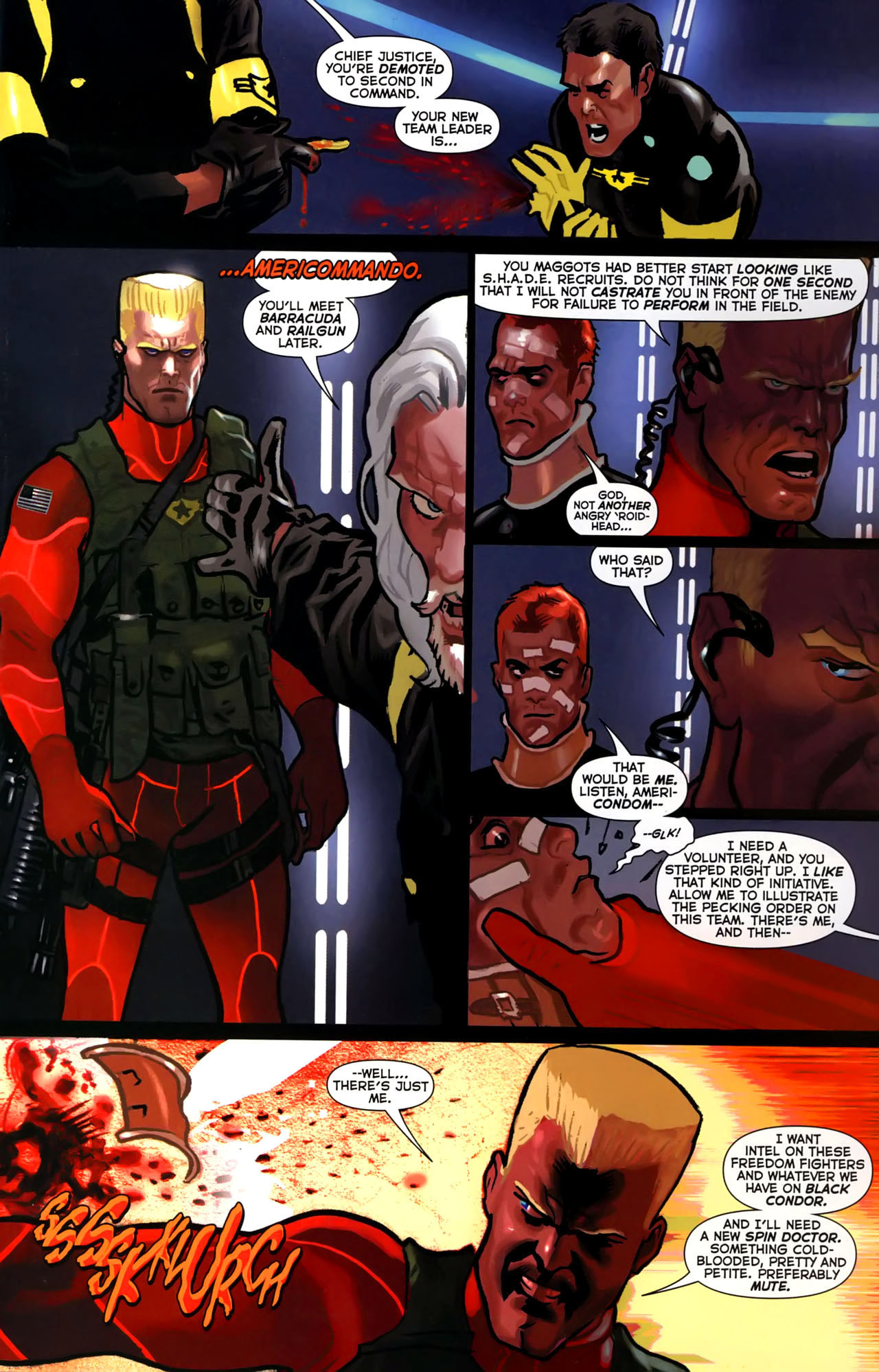 Read online Uncle Sam and the Freedom Fighters (2006) comic -  Issue #4 - 12