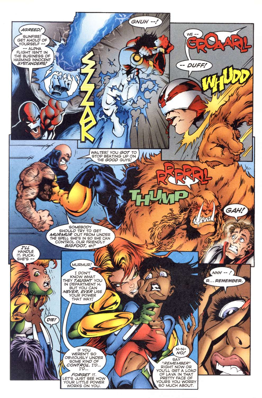 Read online Alpha Flight (1997) comic -  Issue #4 - 21