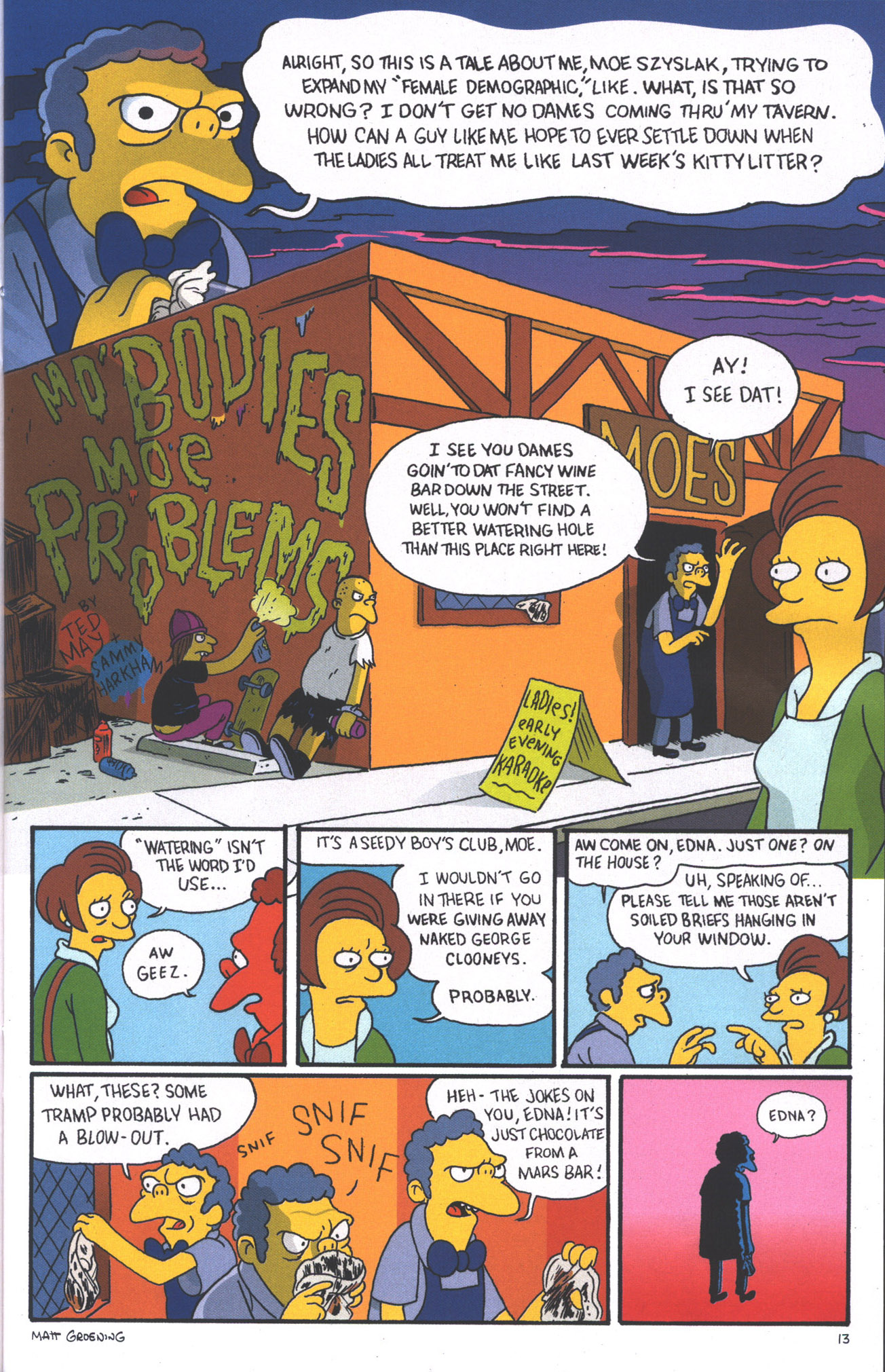 Read online Treehouse of Horror comic -  Issue #15 - 16