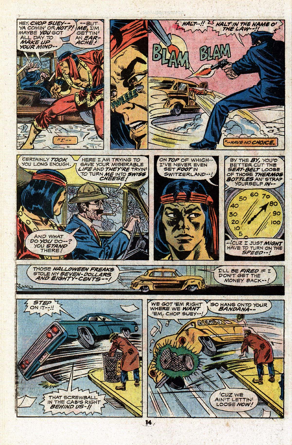 Read online Giant-Size Master of Kung Fu comic -  Issue #4 - 13