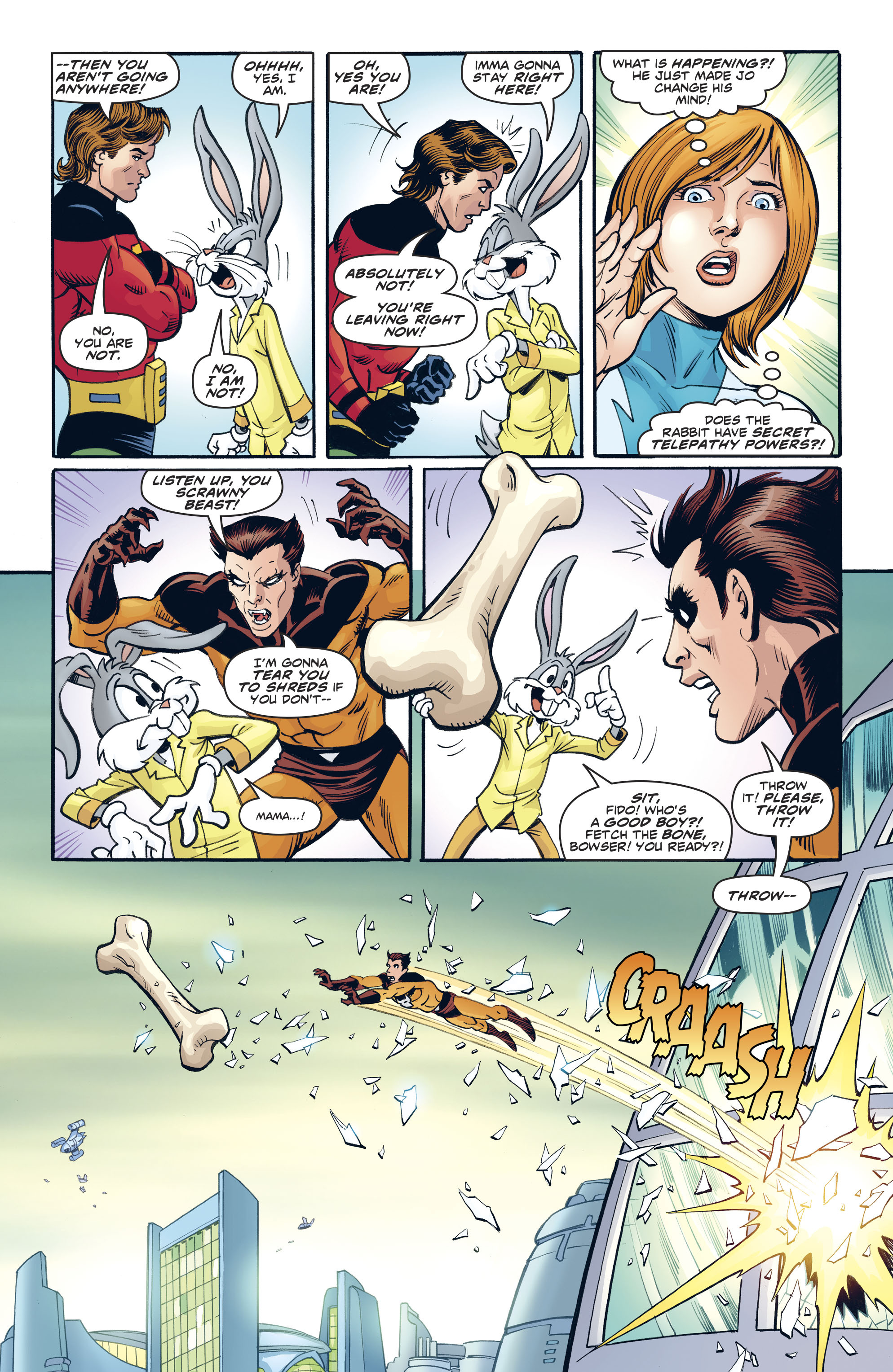 Read online Legion of Super-Heroes/Bugs Bunny Special comic -  Issue # Full - 18