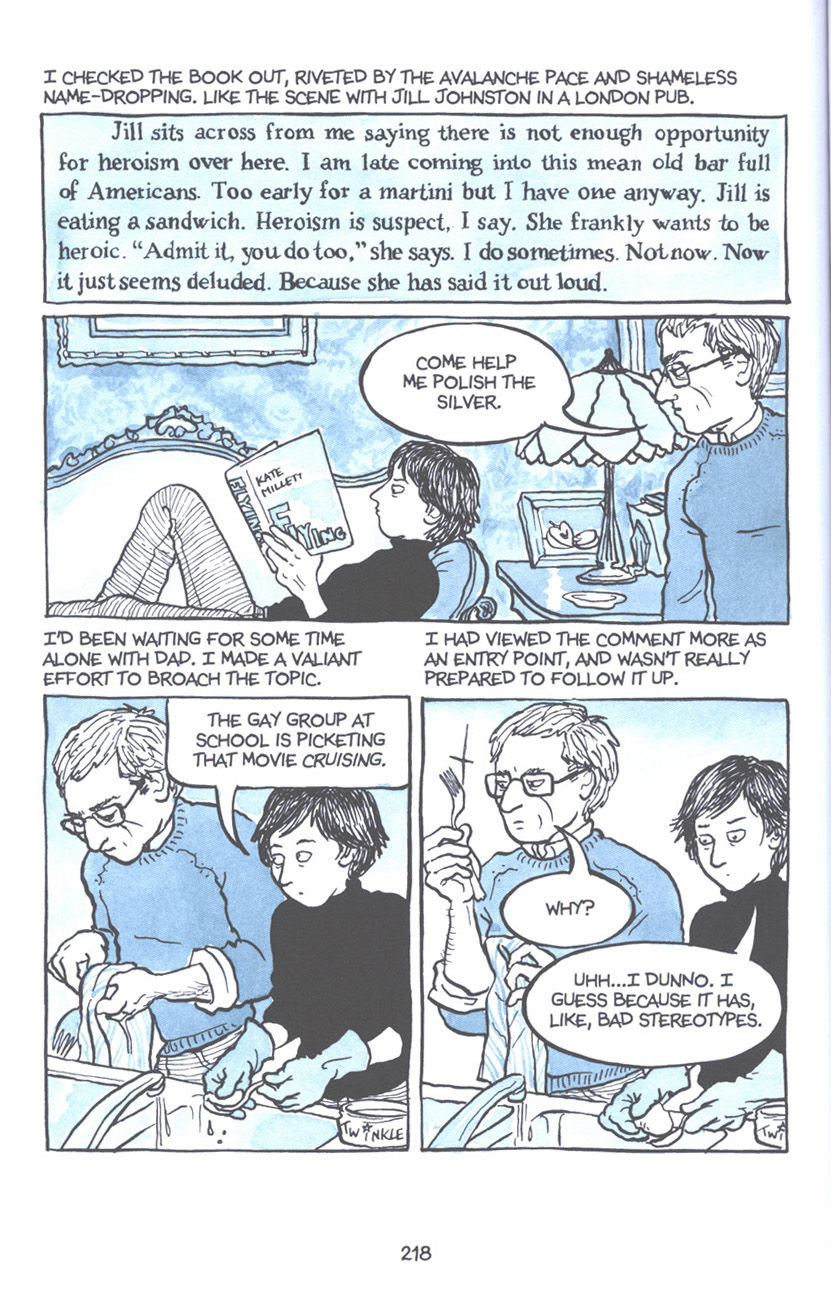 Read online Fun Home: A Family Tragicomic comic -  Issue # TPB - 224