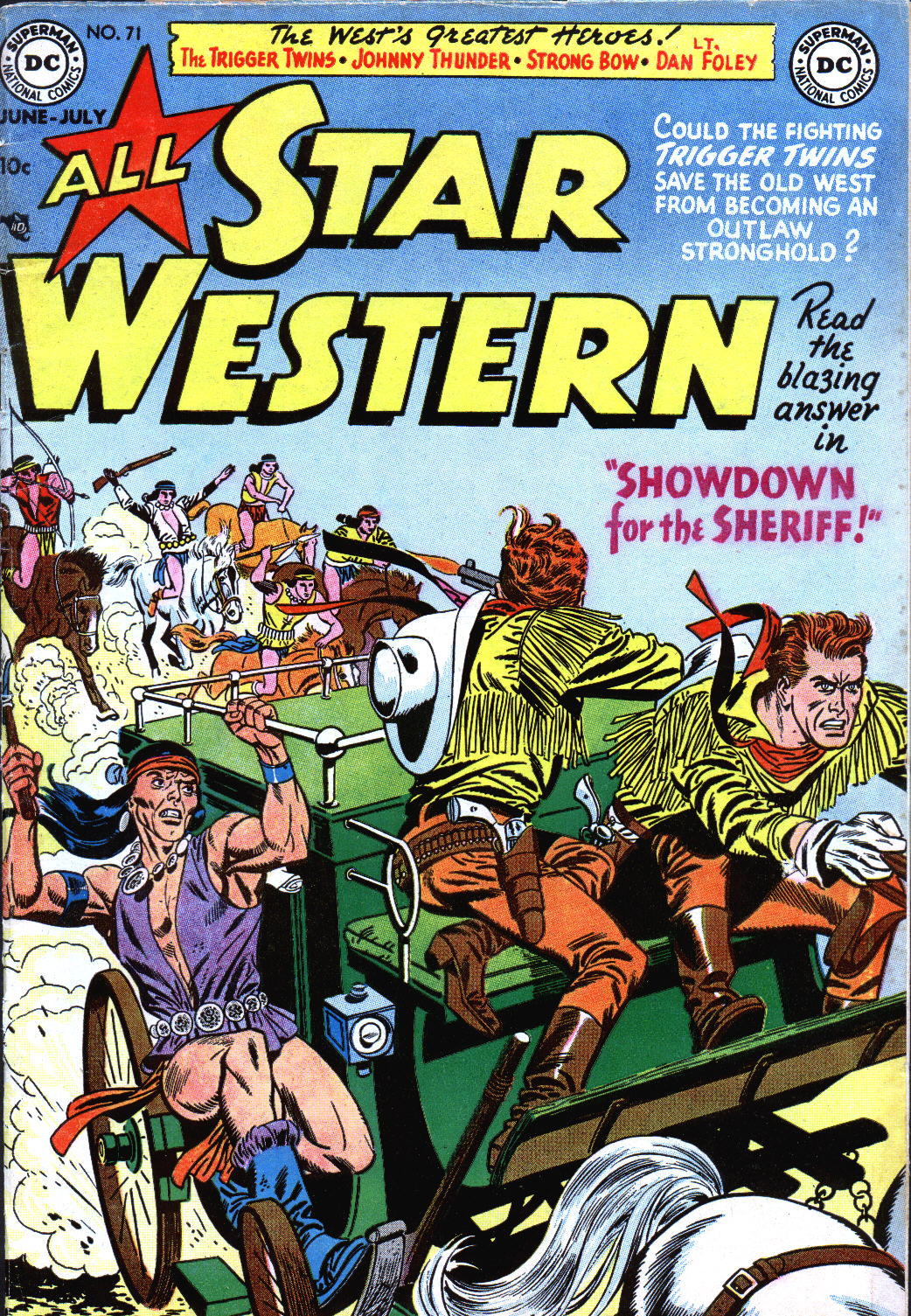 Read online All-Star Western (1951) comic -  Issue #71 - 1