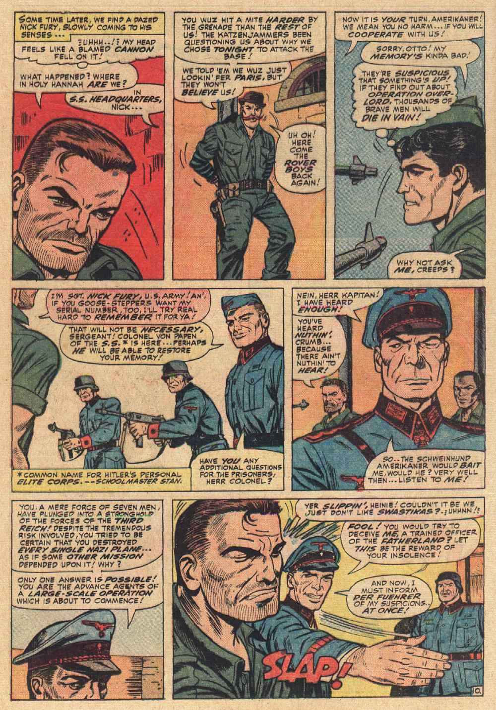 Read online Sgt. Fury comic -  Issue # _Special 2 - 12