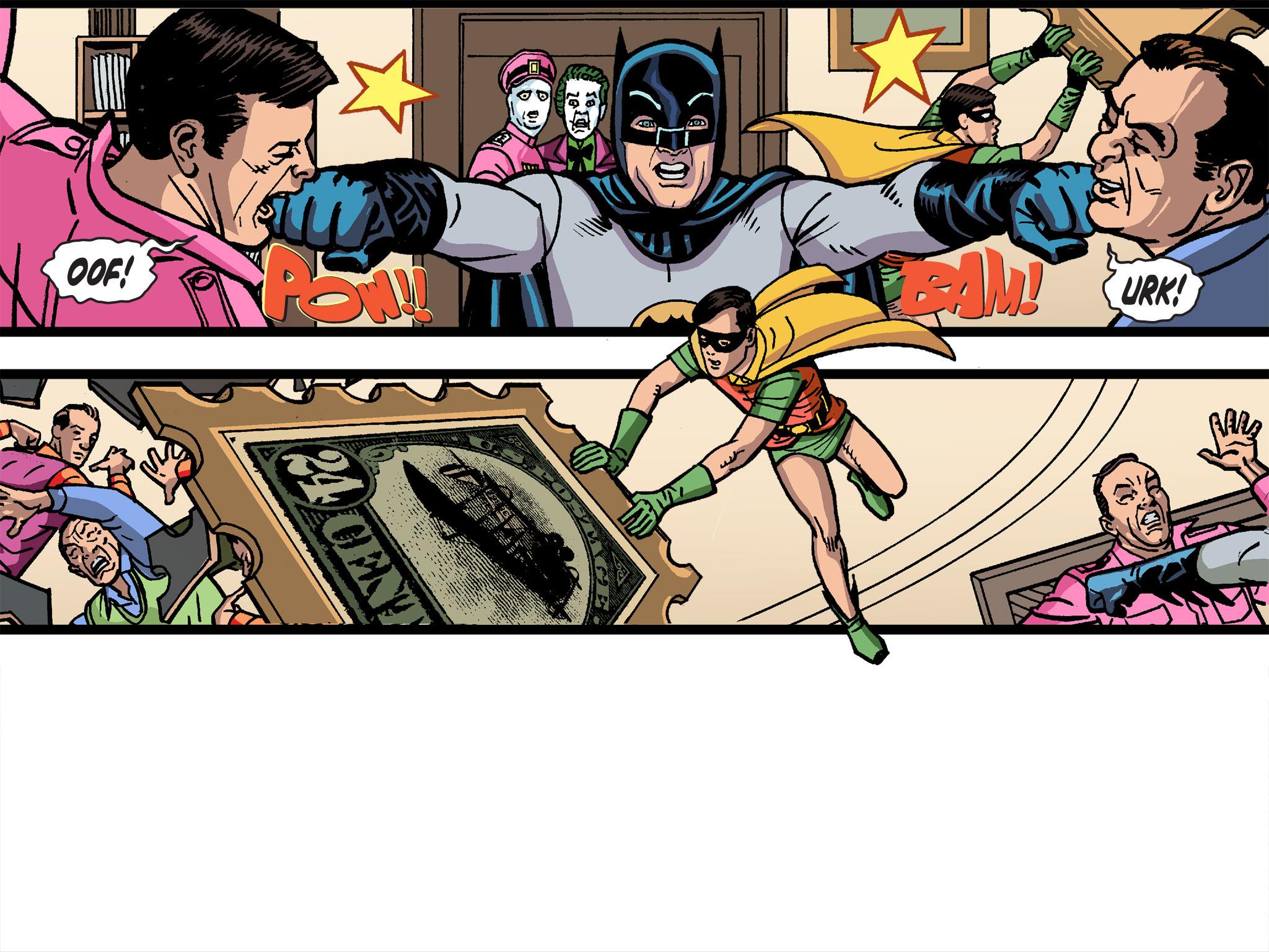 Read online Batman '66 Meets the Green Hornet [II] comic -  Issue #4 - 102