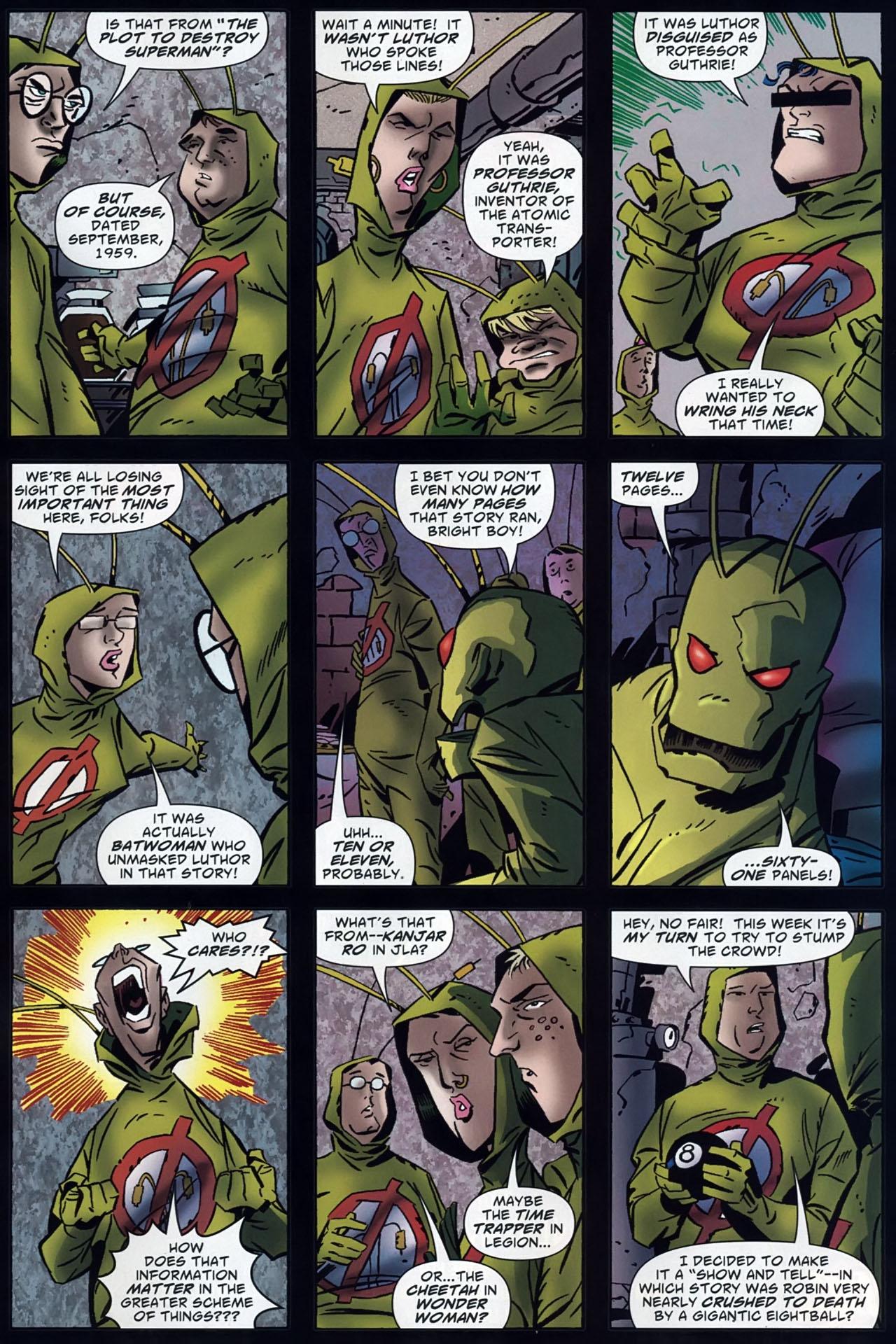 Read online Ambush Bug: Year None comic -  Issue #4 - 23