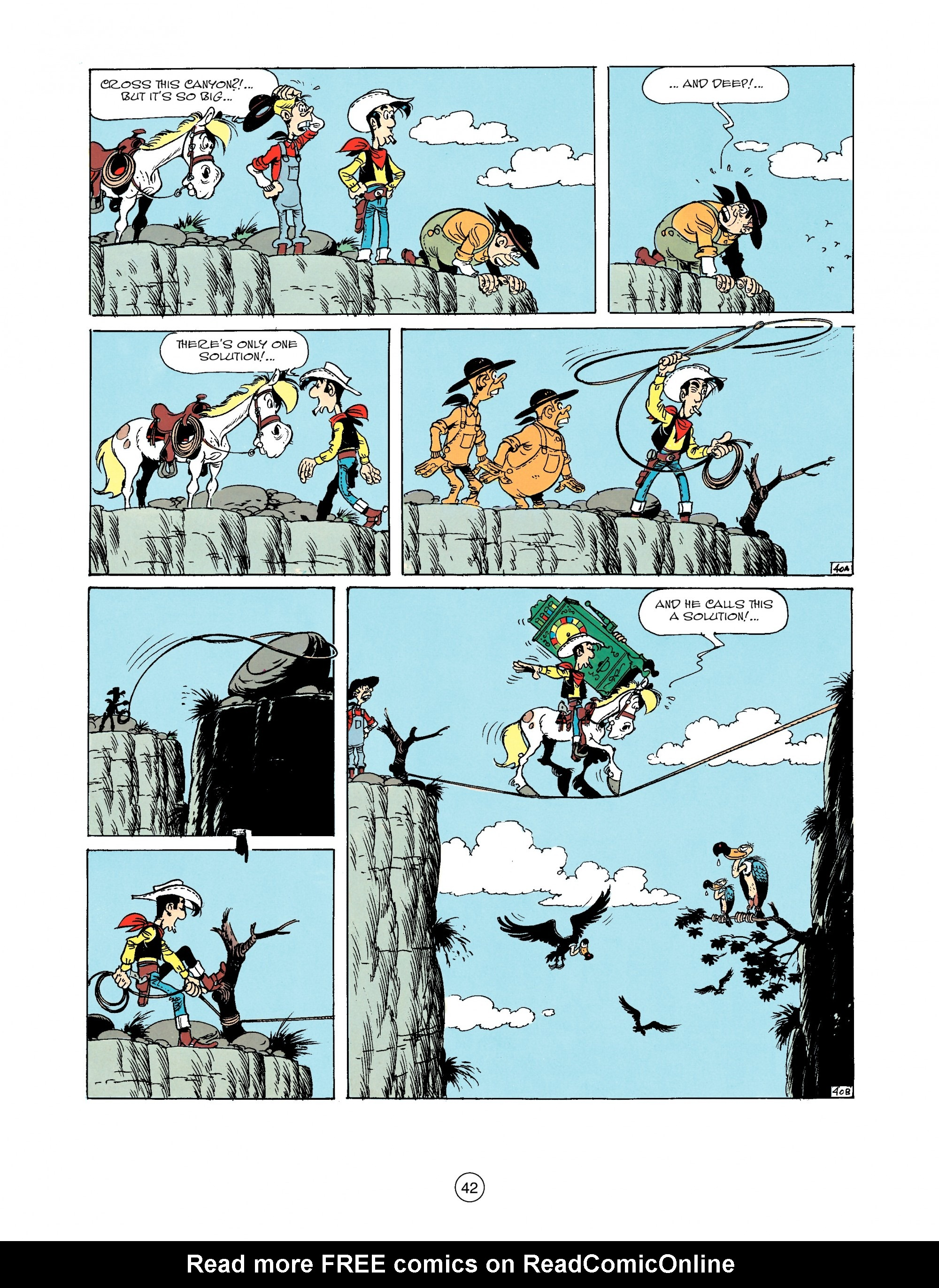 Read online A Lucky Luke Adventure comic -  Issue #33 - 42