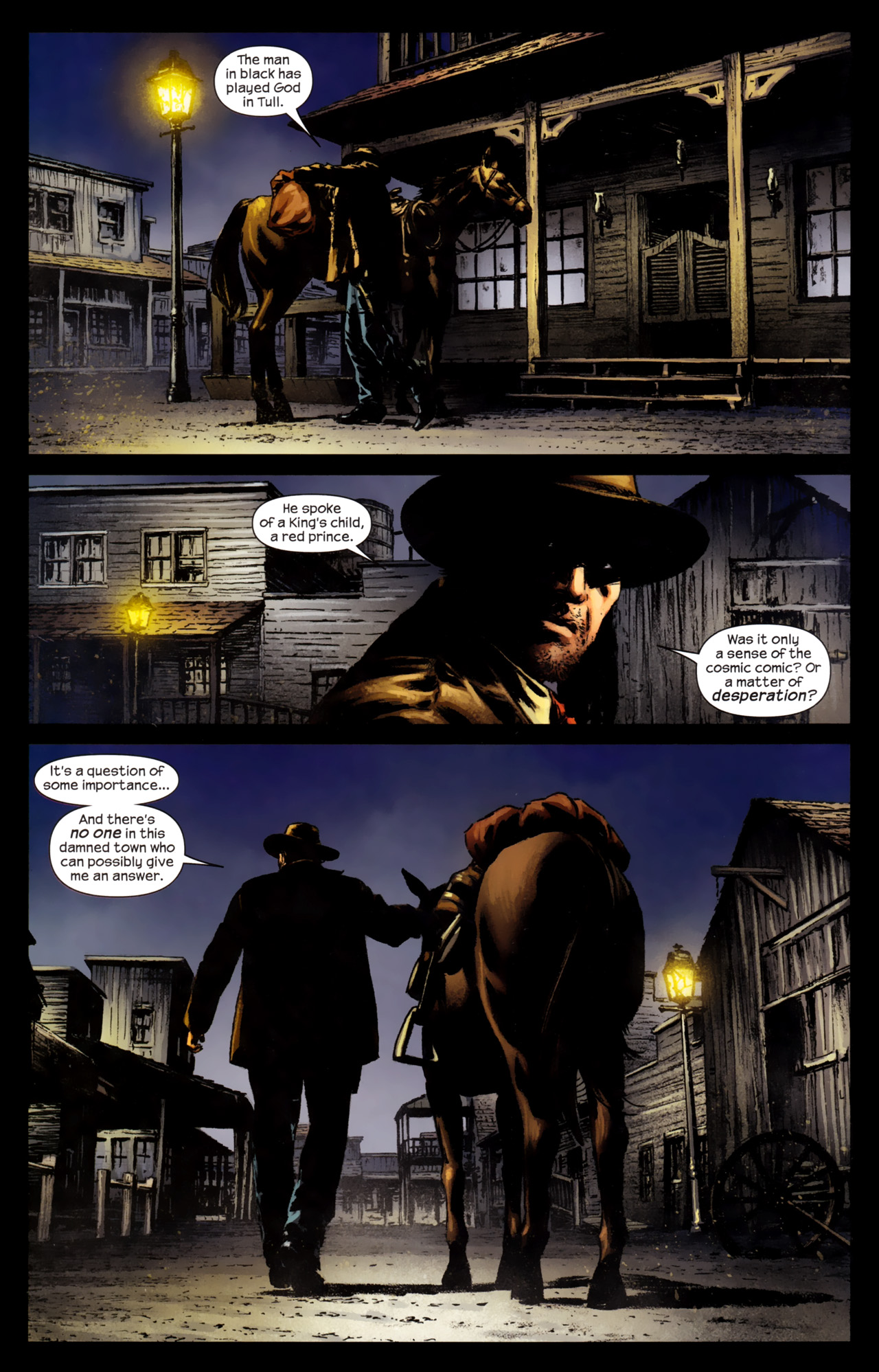 Read online Dark Tower: The Gunslinger - The Battle of Tull comic -  Issue #4 - 21