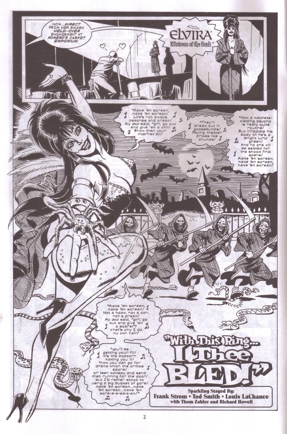 Read online Elvira, Mistress of the Dark comic -  Issue #127 - 4