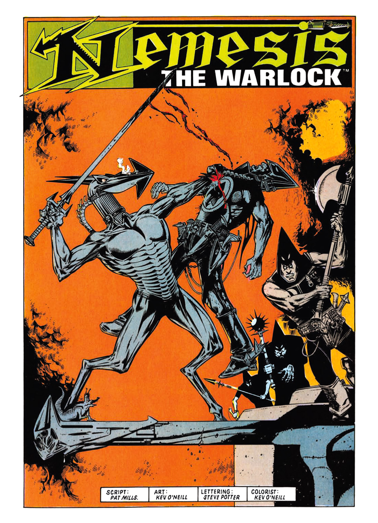 Read online Nemesis The Warlock comic -  Issue # TPB Deviant Edition - 37
