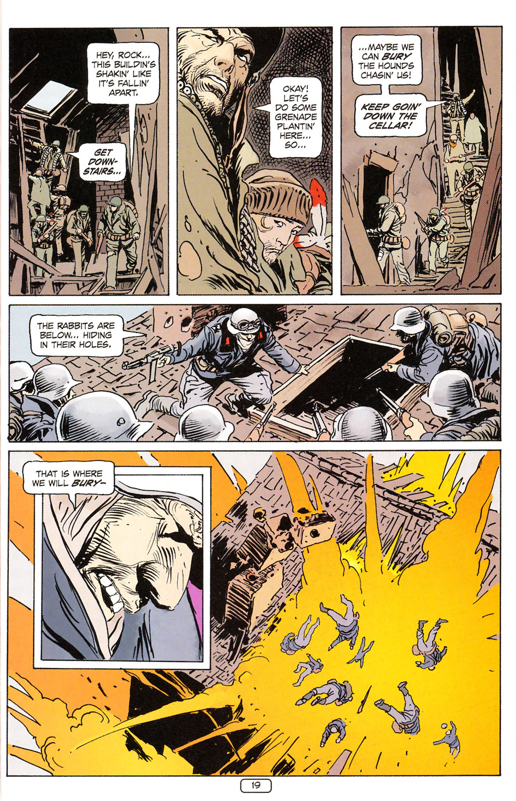Read online Sgt. Rock: The Prophecy comic -  Issue #6 - 19