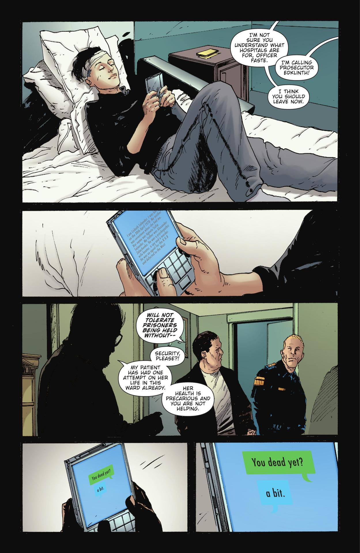Read online The Girl Who Kicked The Hornet's Nest comic -  Issue # TPB - 171
