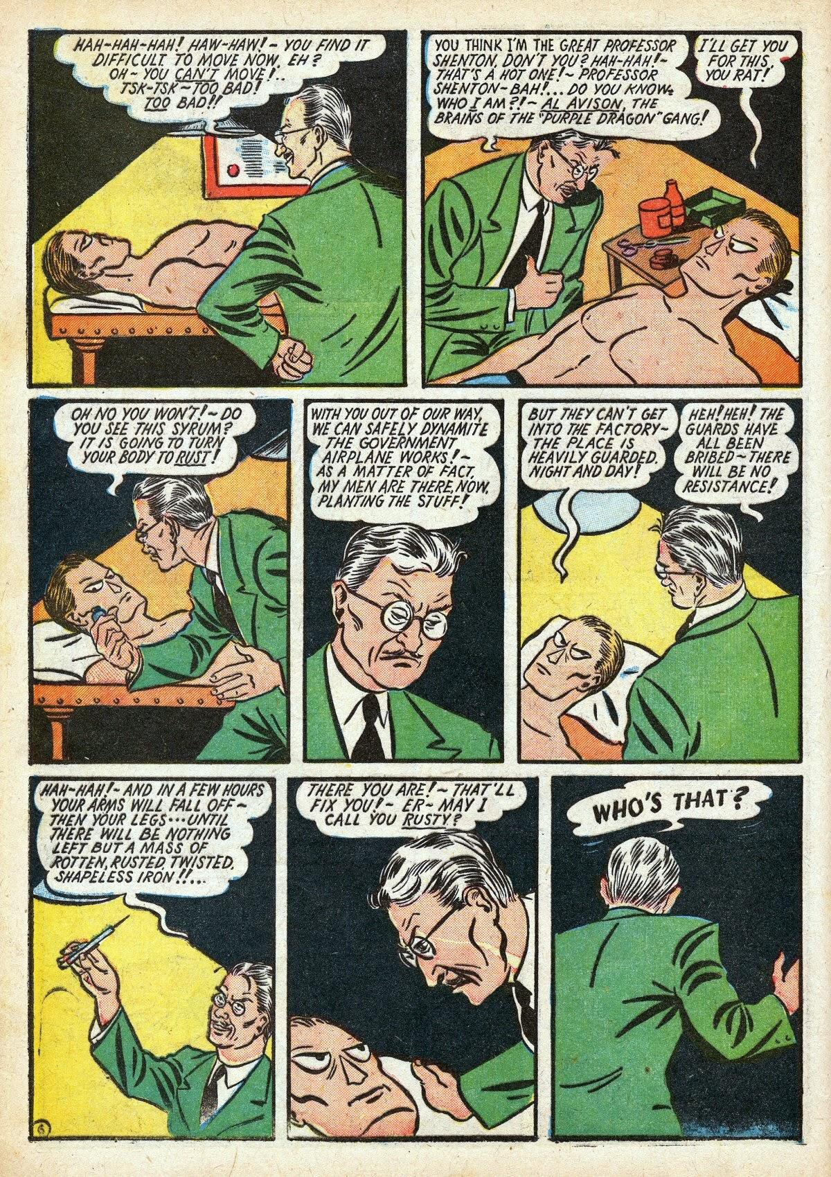 Read online Amazing Man Comics comic -  Issue #16 - 20