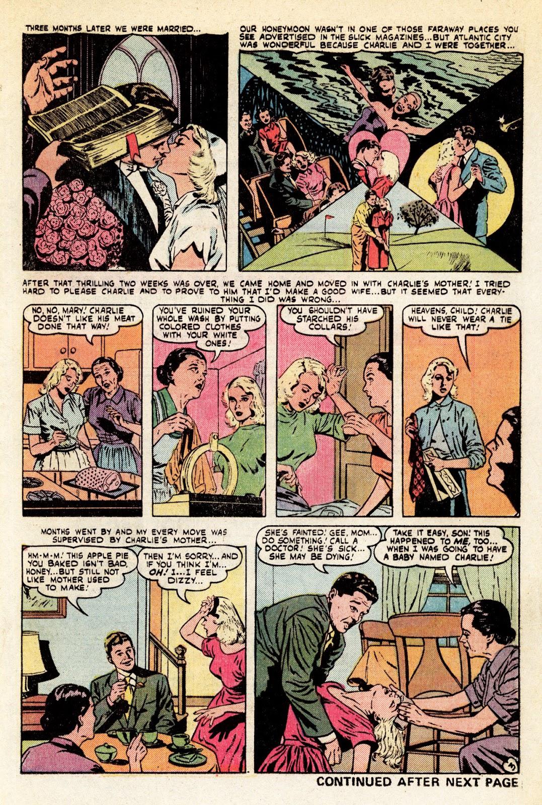 Love Romances (1949) issue 34 - Page 4