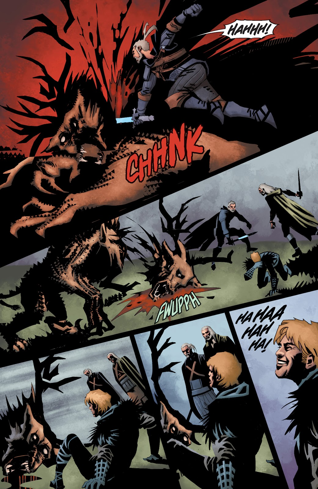 Read online The Witcher Omnibus comic -  Issue # TPB (Part 3) - 94