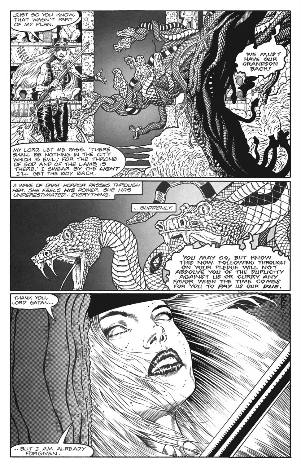 Read online Gunfighters in Hell comic -  Issue #4 - 27