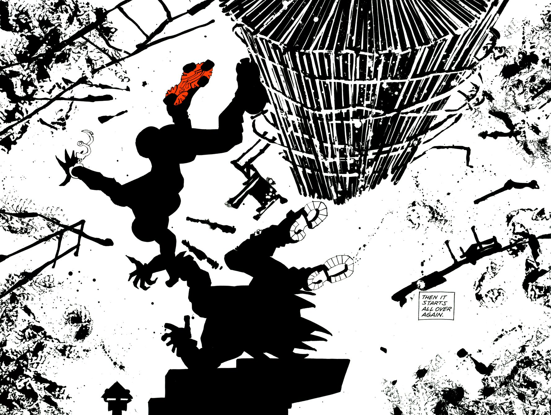 Read online Frank Miller's Holy Terror comic -  Issue # TPB - 49