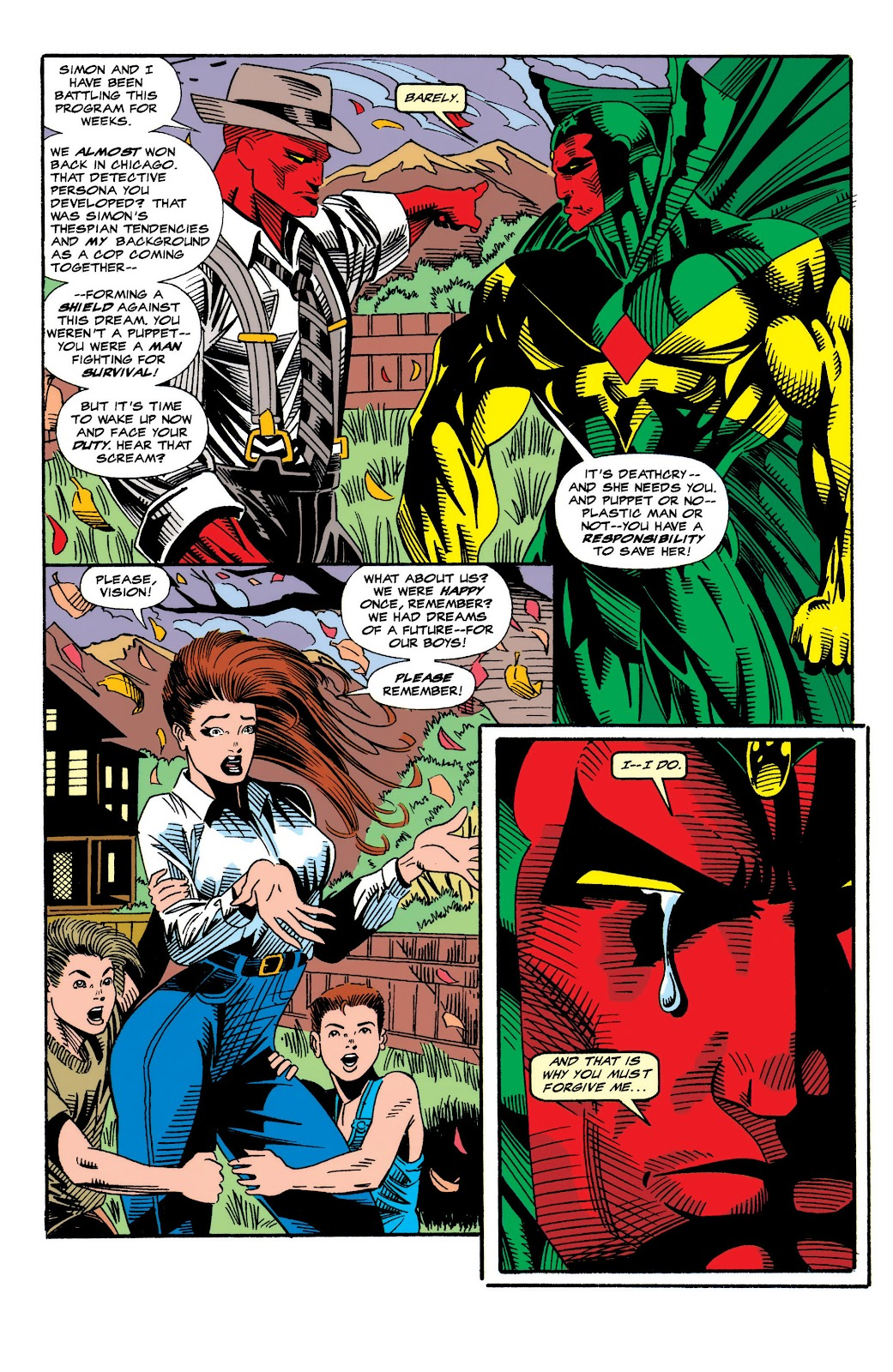 Read online The Vision comic -  Issue #4 - 12