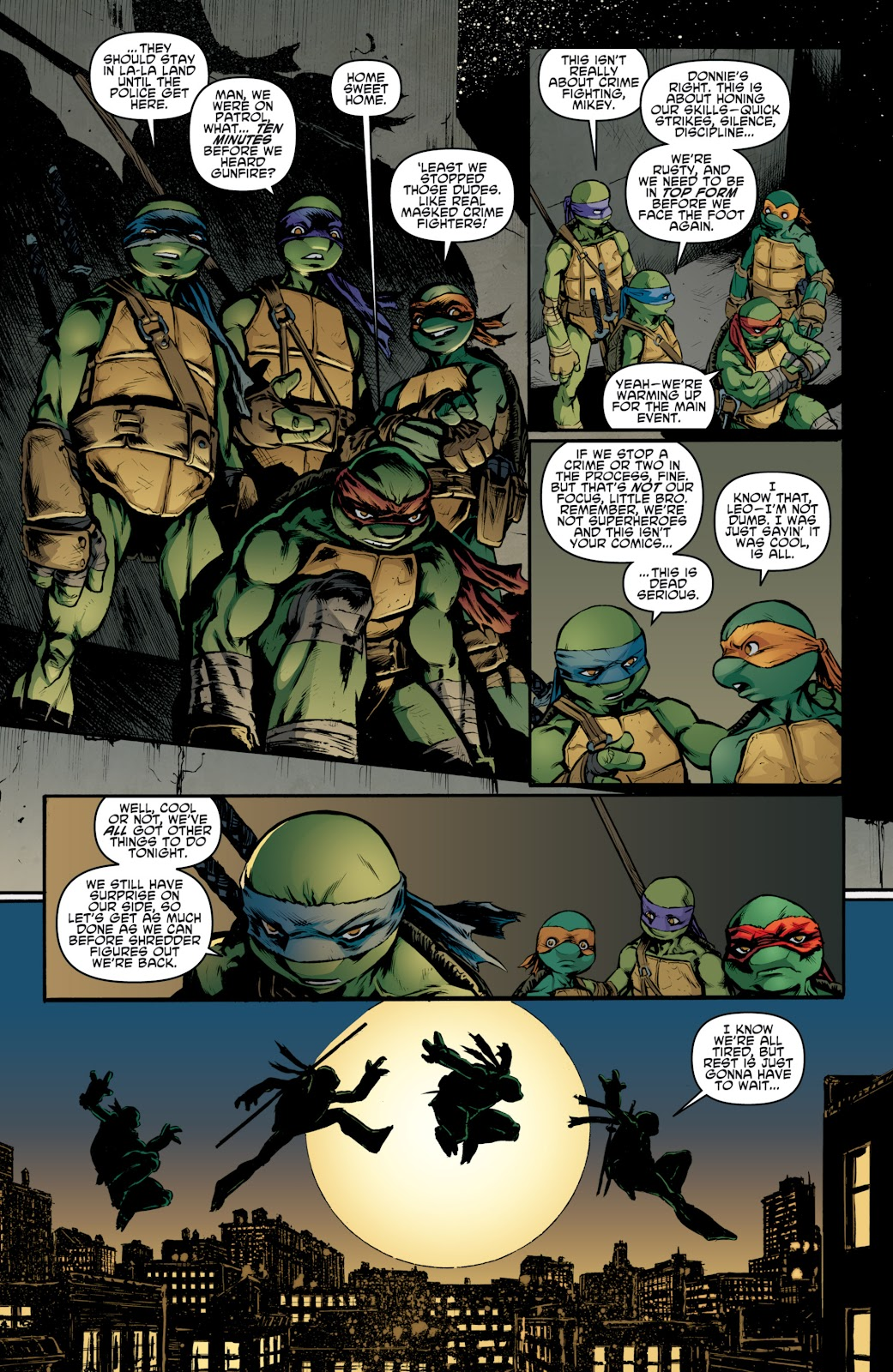 Read online Teenage Mutant Ninja Turtles: The IDW Collection comic -  Issue # TPB 4 (Part 3) - 15
