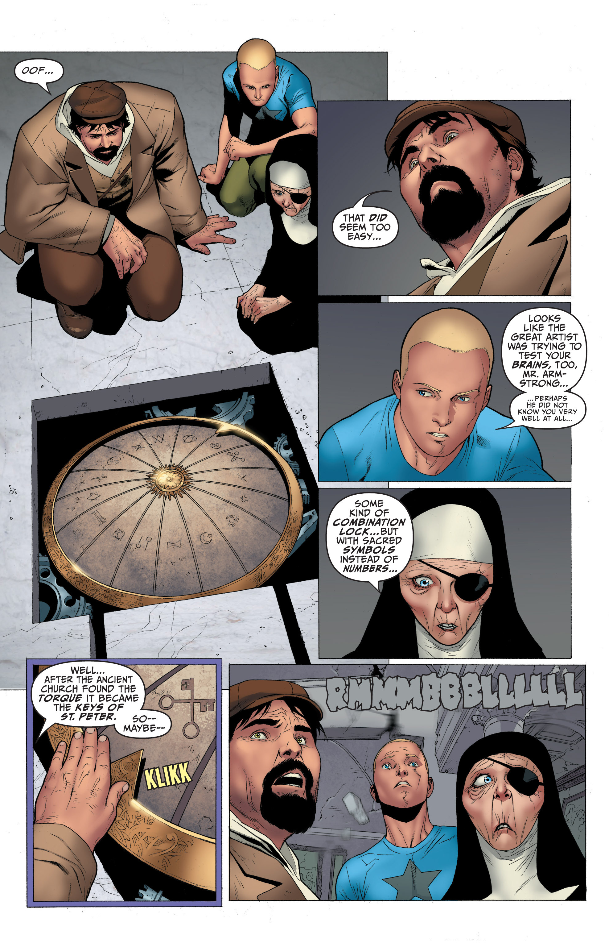 Read online Archer and Armstrong comic -  Issue #Archer and Armstrong _TPB 1 - 47