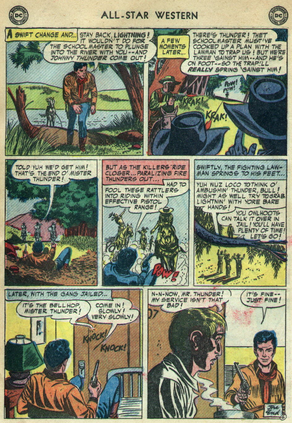 Read online All-Star Western (1951) comic -  Issue #79 - 8