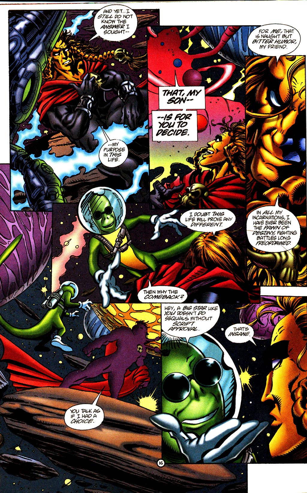 Read online Rune (1995) comic -  Issue #2 - 19