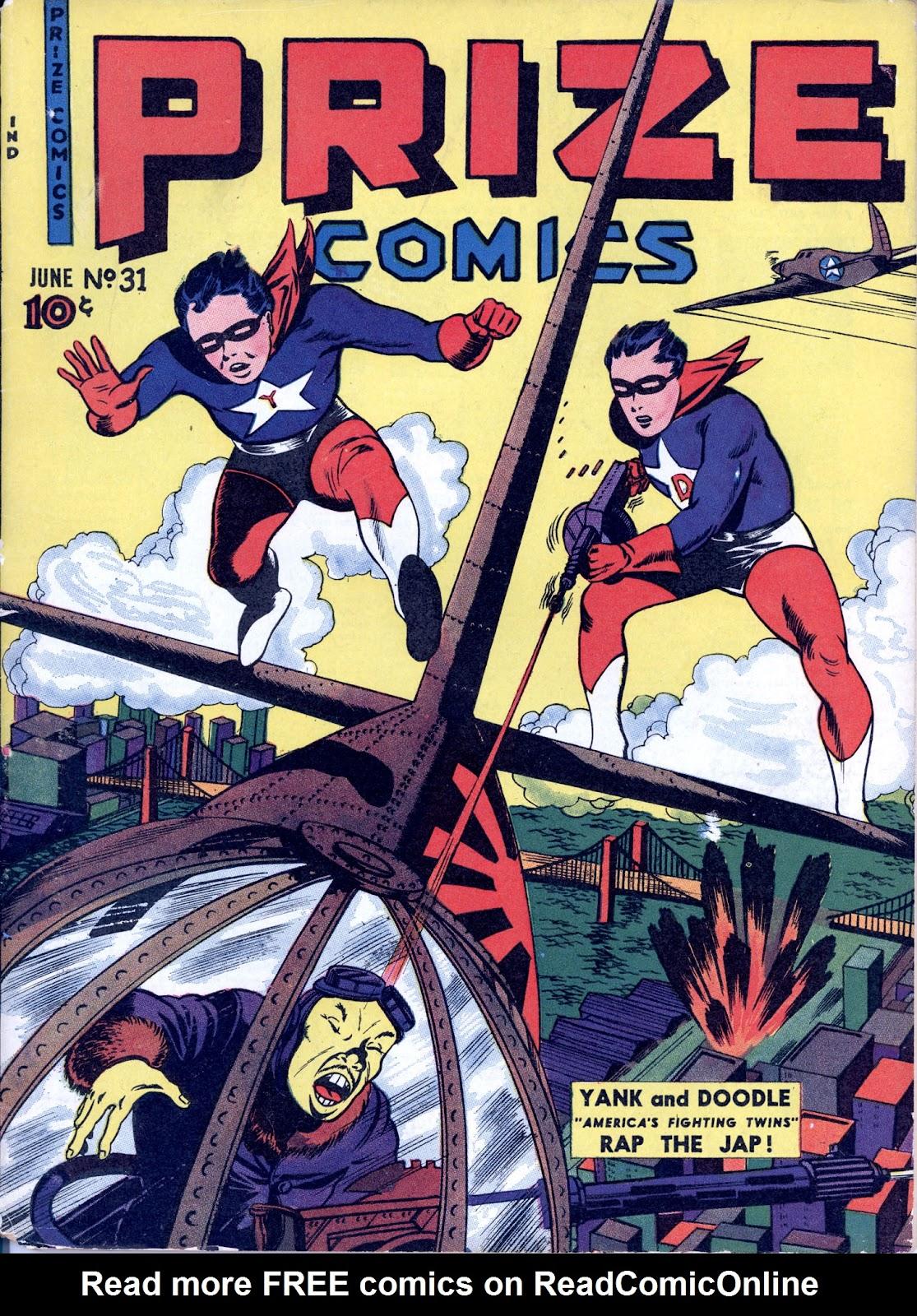 Prize Comics 31 Page 1