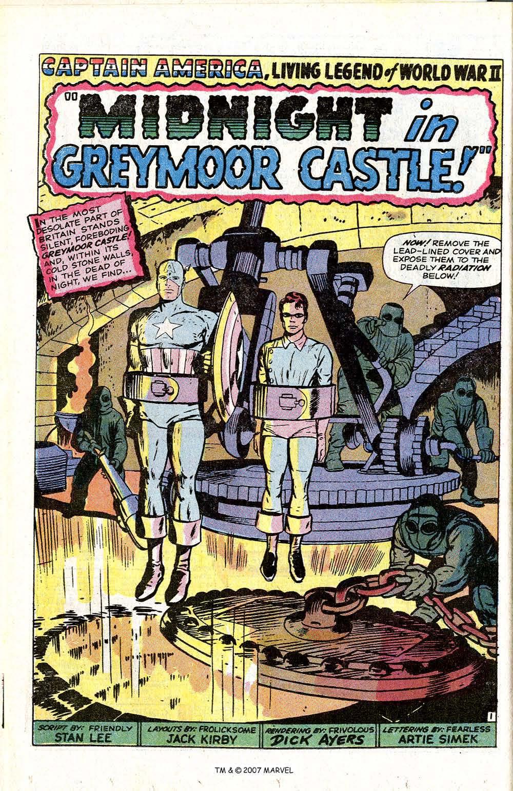 Read online Captain America (1968) comic -  Issue # _Annual 1 - 16