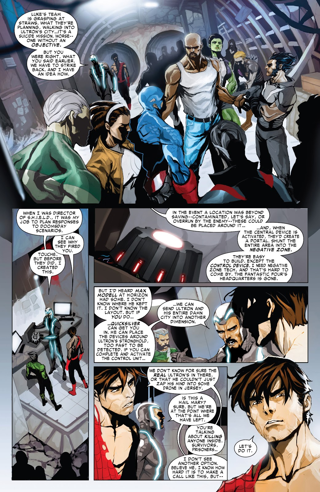 Read online Age of Ultron Companion comic -  Issue # TPB (Part 1) - 75