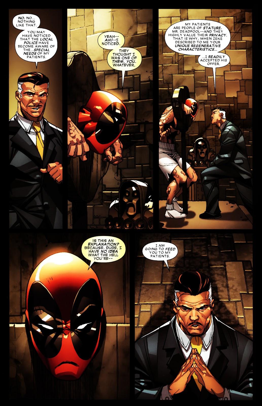 Read online Deadpool (2008) comic -  Issue #5 - 6