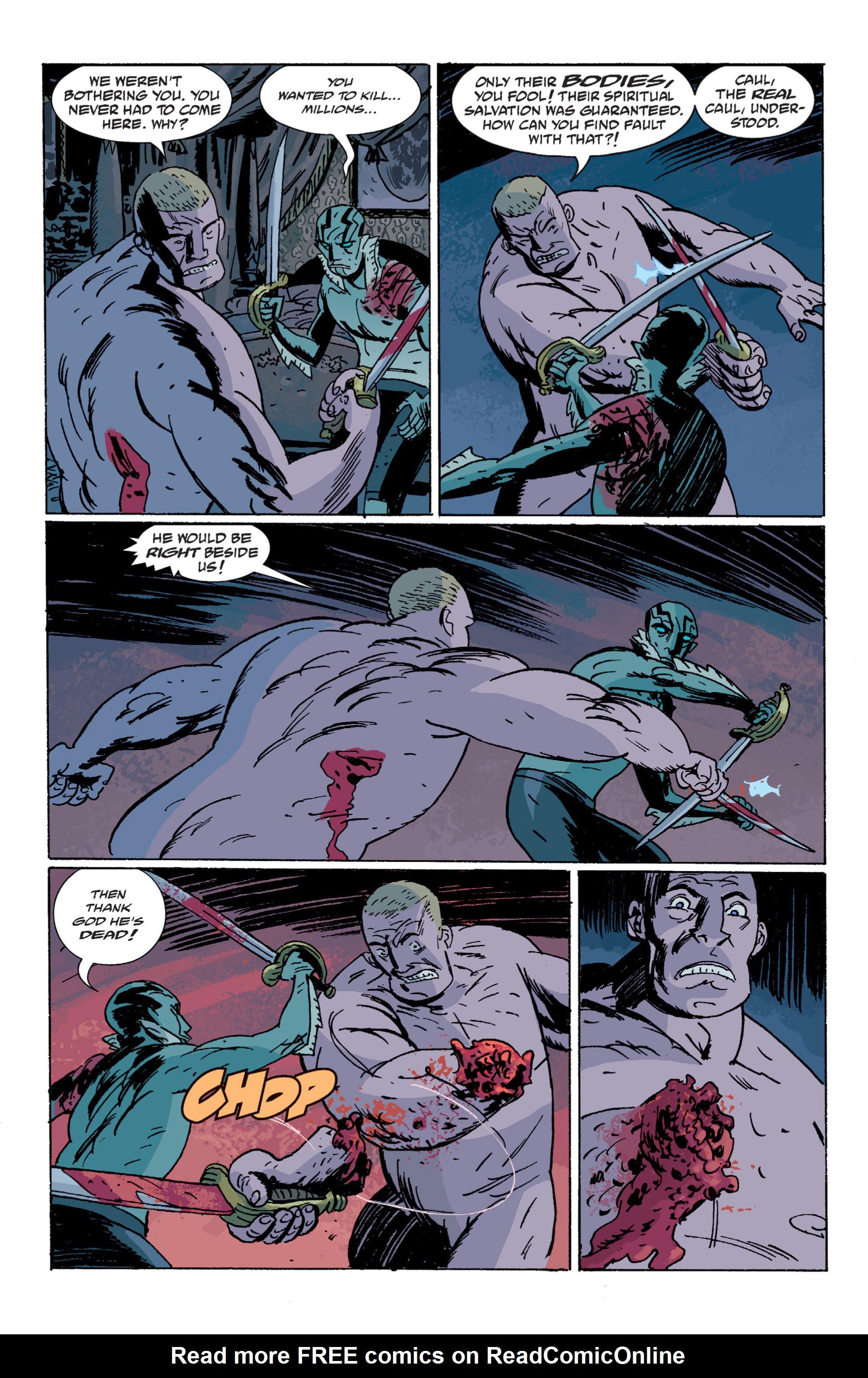 Read online B.P.R.D. (2003) comic -  Issue # TPB 7 - 132