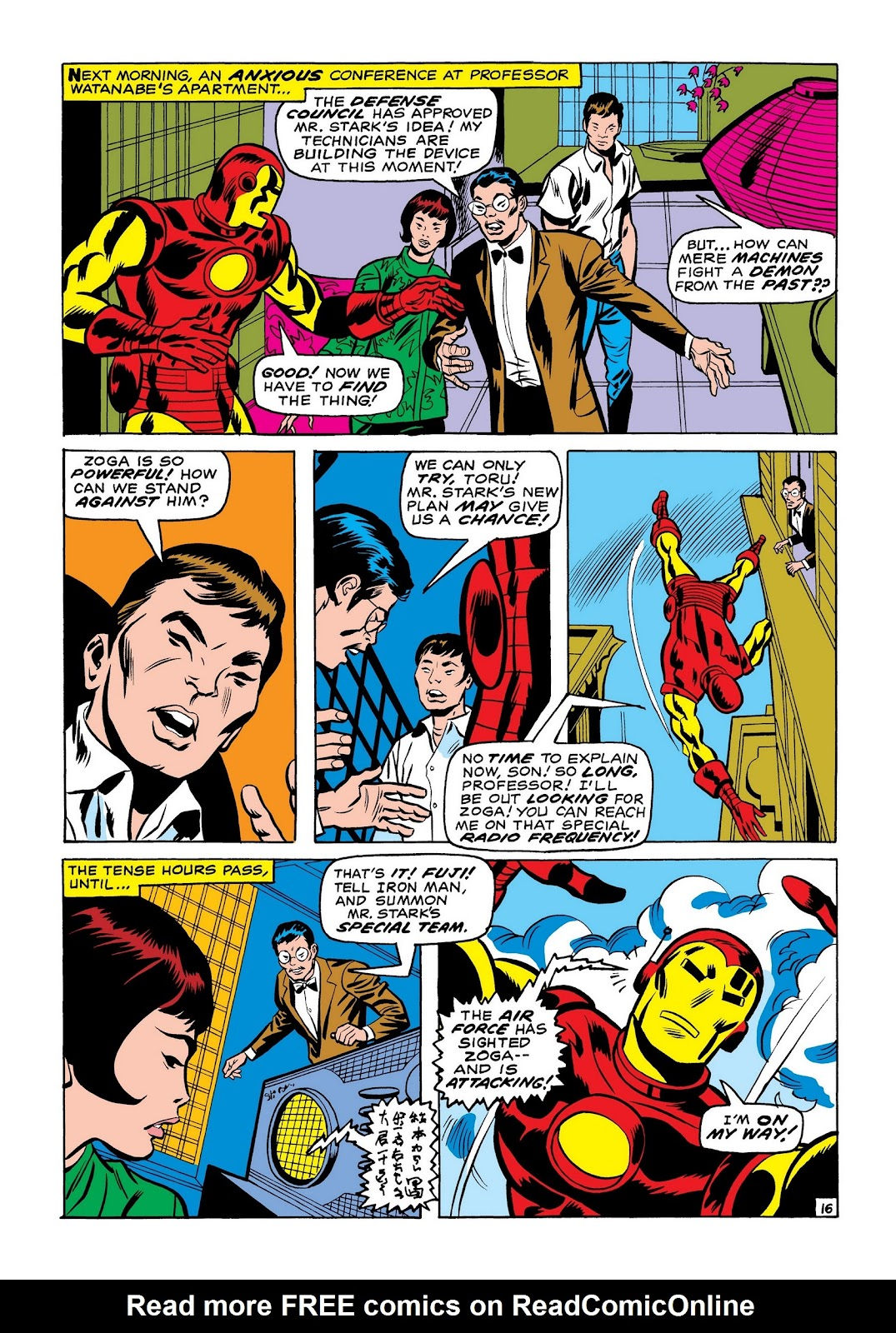 Read online Marvel Masterworks: The Invincible Iron Man comic -  Issue # TPB 7 (Part 2) - 4